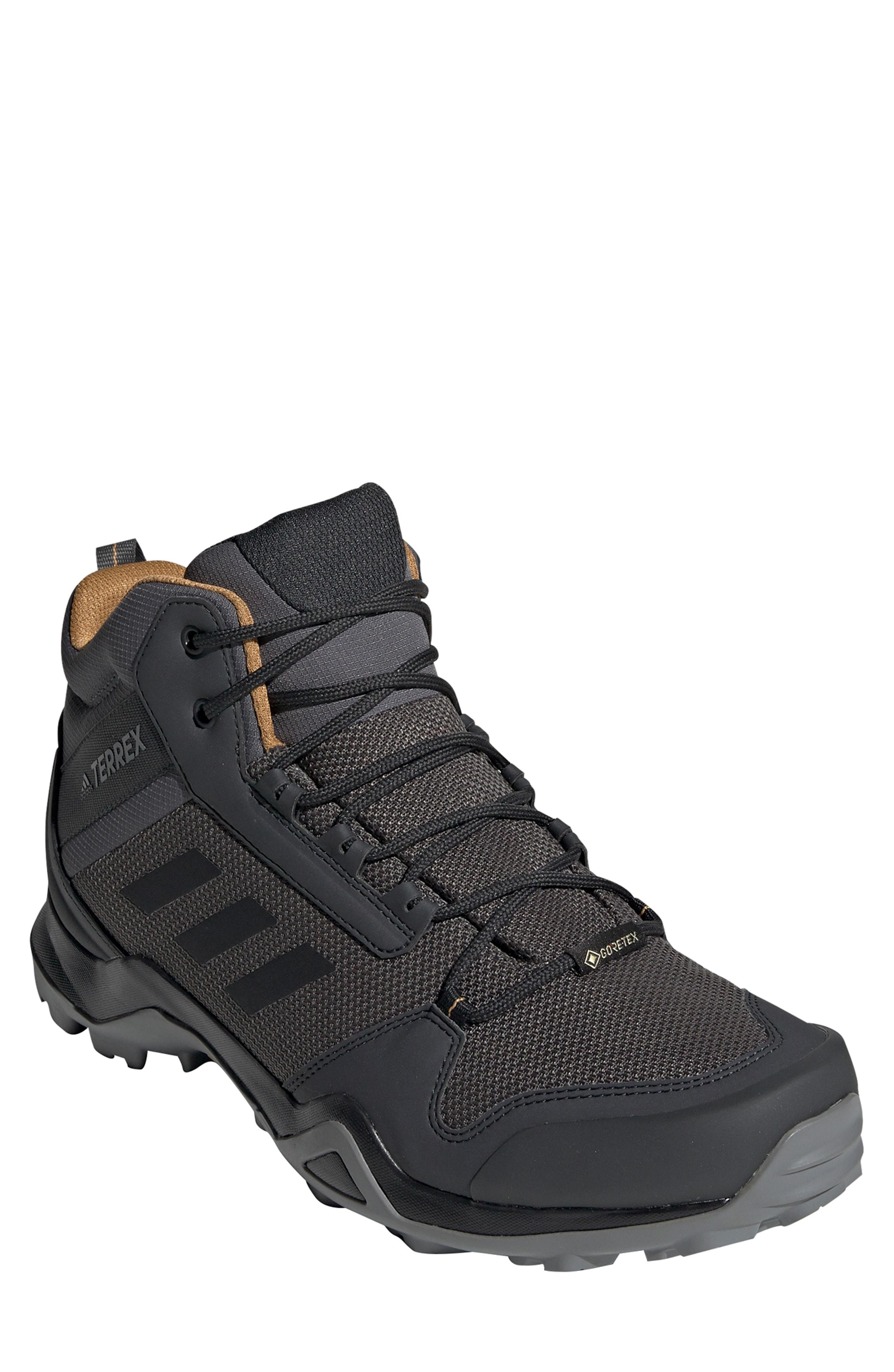 57d40248296e Lyst - Adidas Ax3 Mid Gore-tex Waterproof Hiking Shoe in Black for Men