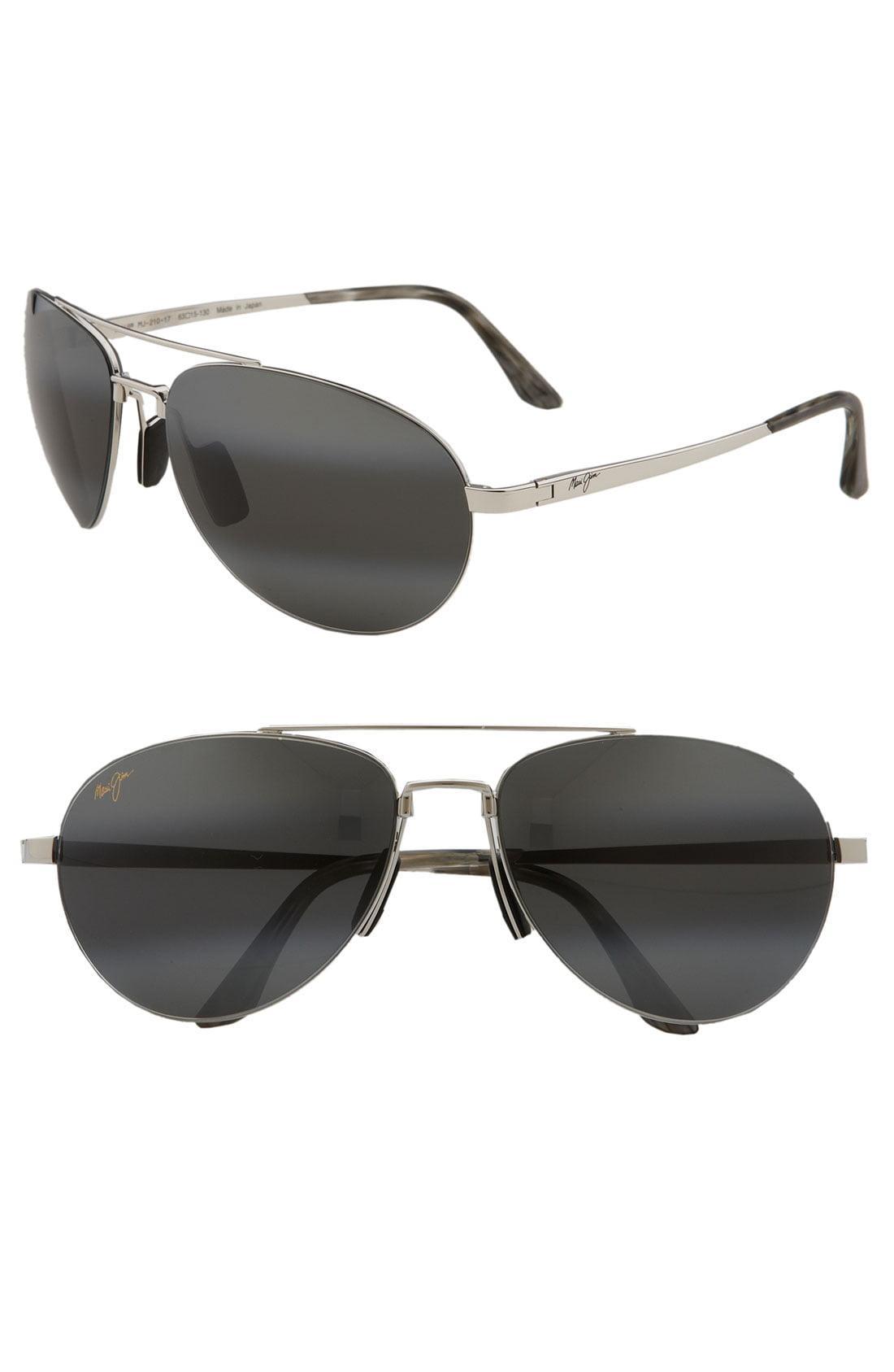 ea3a12ced3 Lyst - Maui Jim  pilot - Polarizedplus2  63mm Sunglasses in Metallic ...