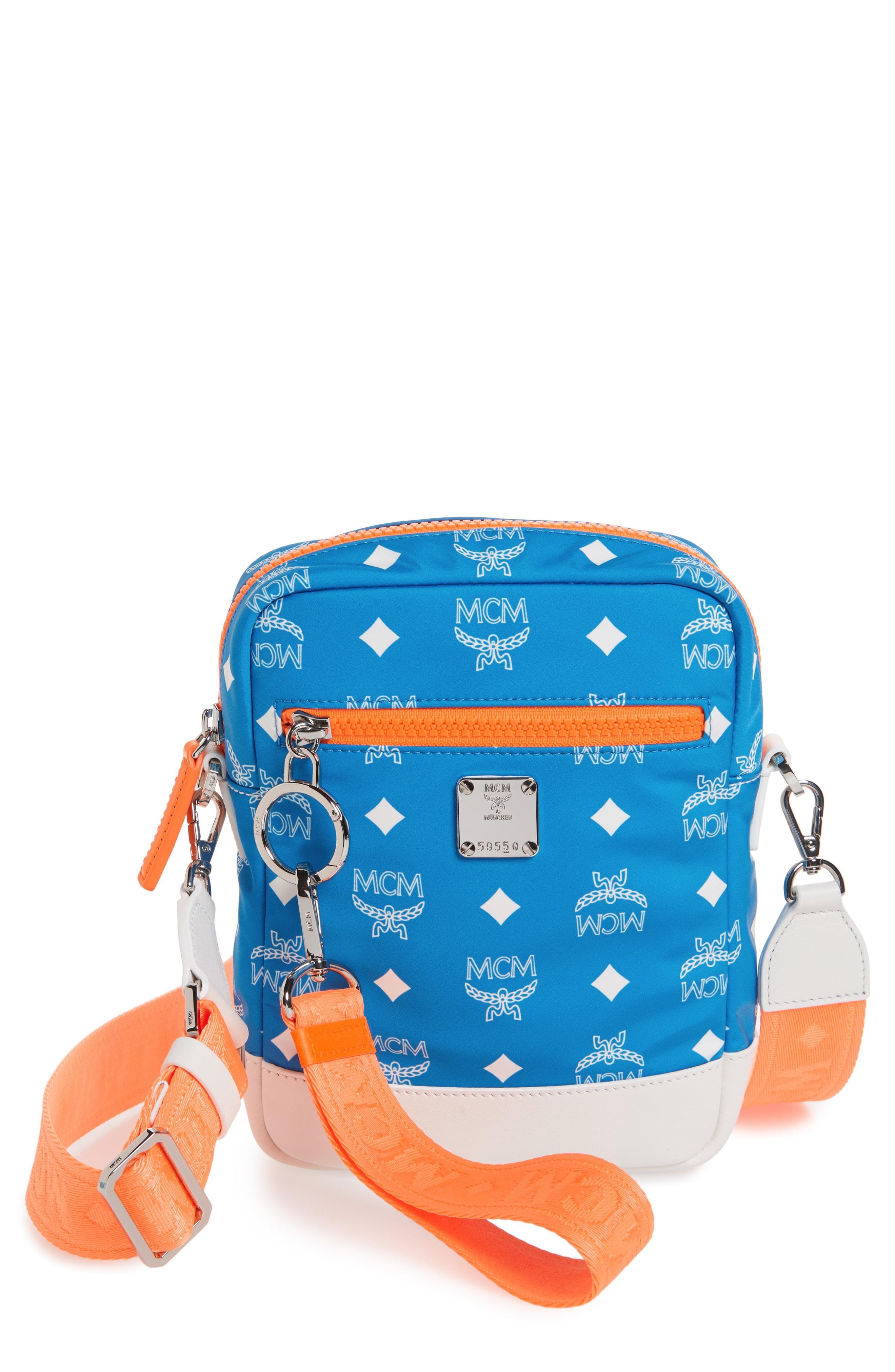 6d71dbf44d8b Men's Blue Resnick Visetos Crossbody Bag