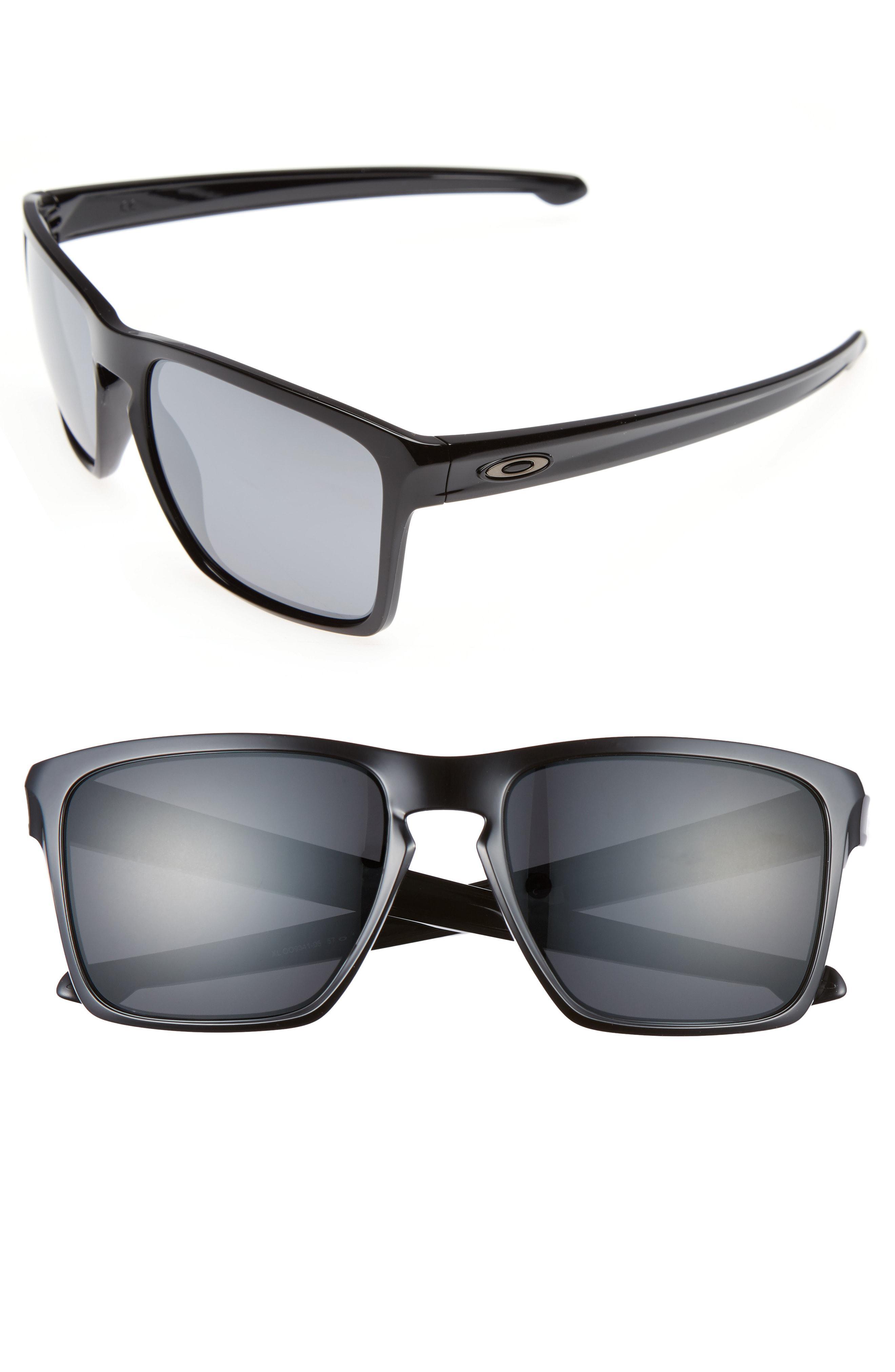 690d398429 Lyst - Oakley Silver Xl 57mm Sunglasses in Black for Men