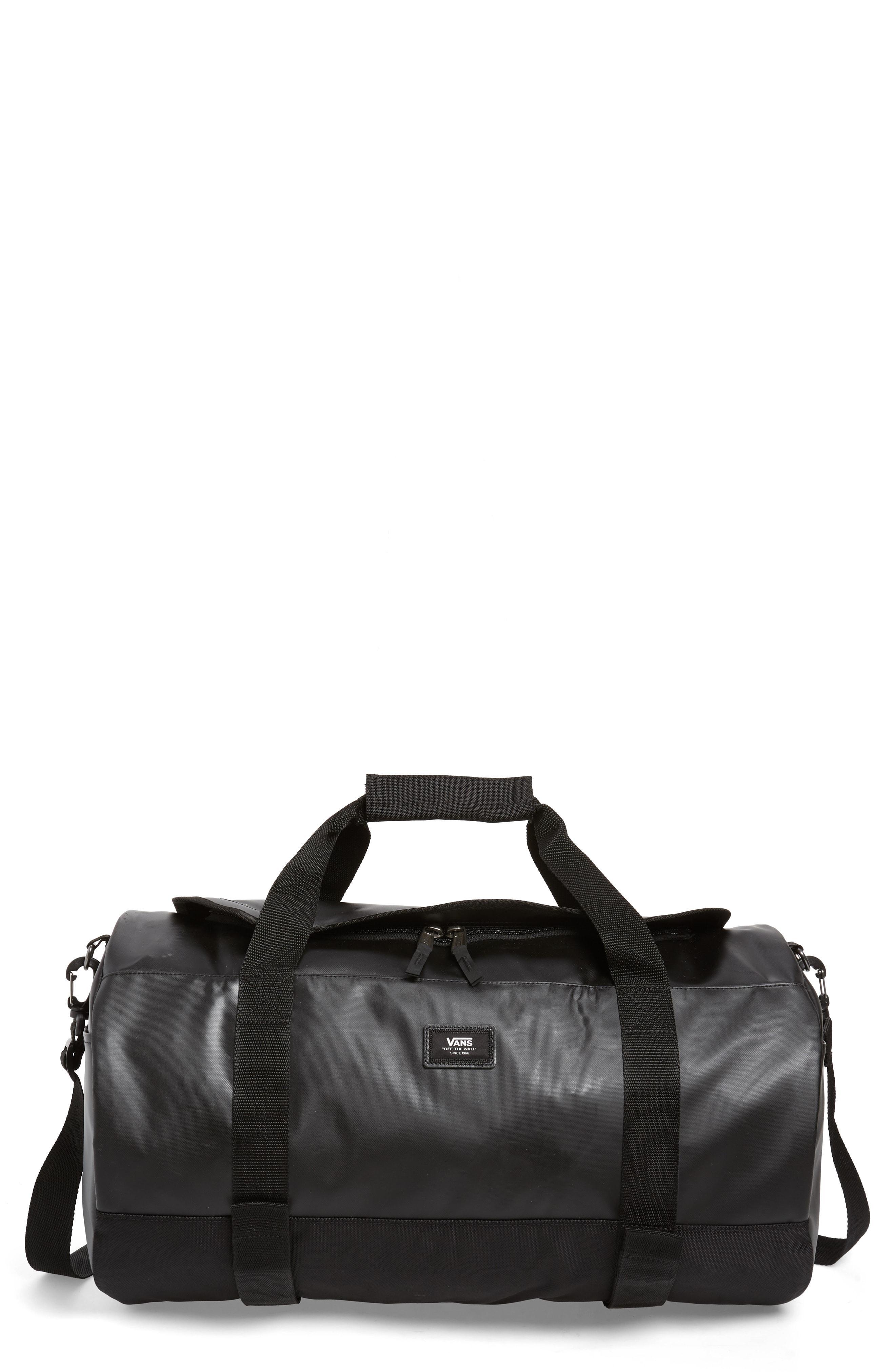 f8d1635c0e42 Vans - Black Grind Skate Water Resistant Duffel Bag - for Men - Lyst. View  fullscreen