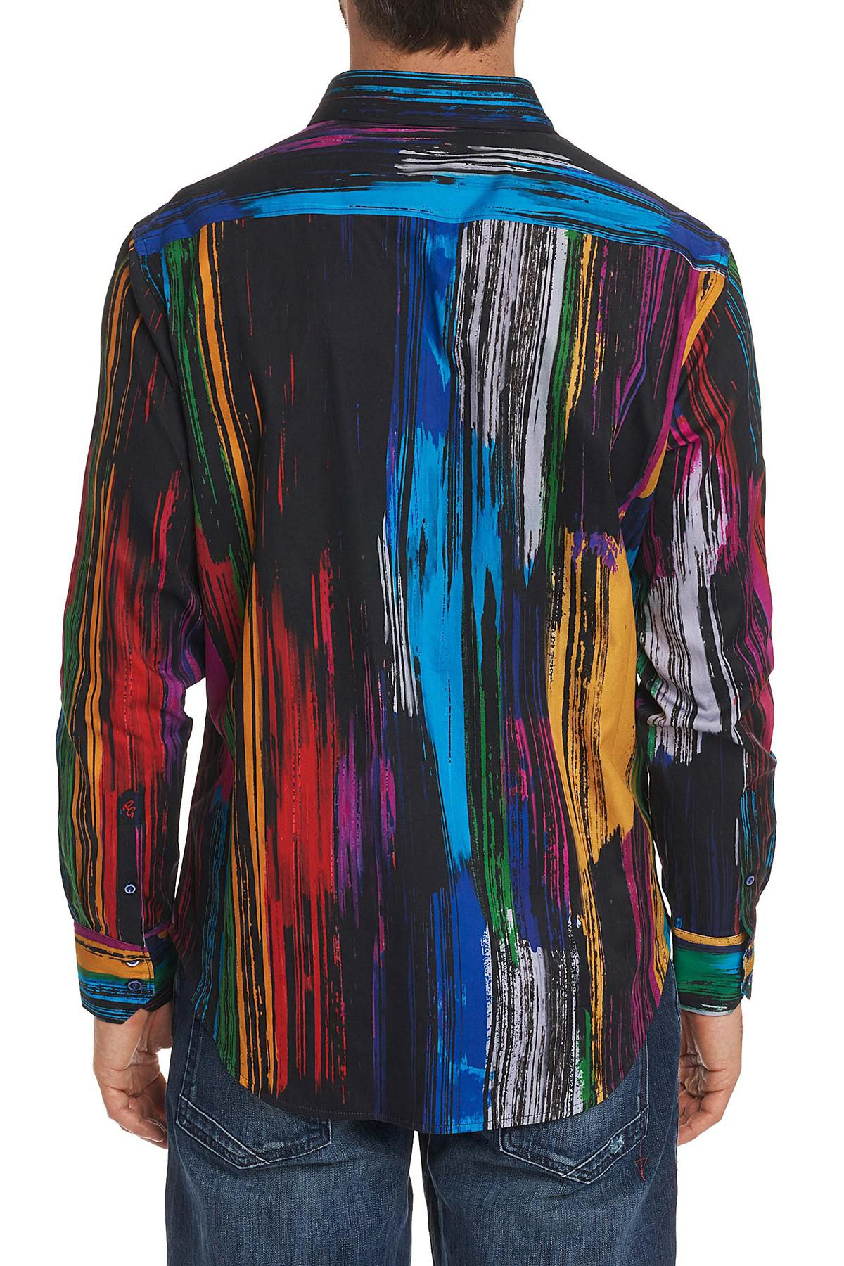 Robert Graham Kaler Classic Fit Print Woven Shirt In Blue For Men Lyst