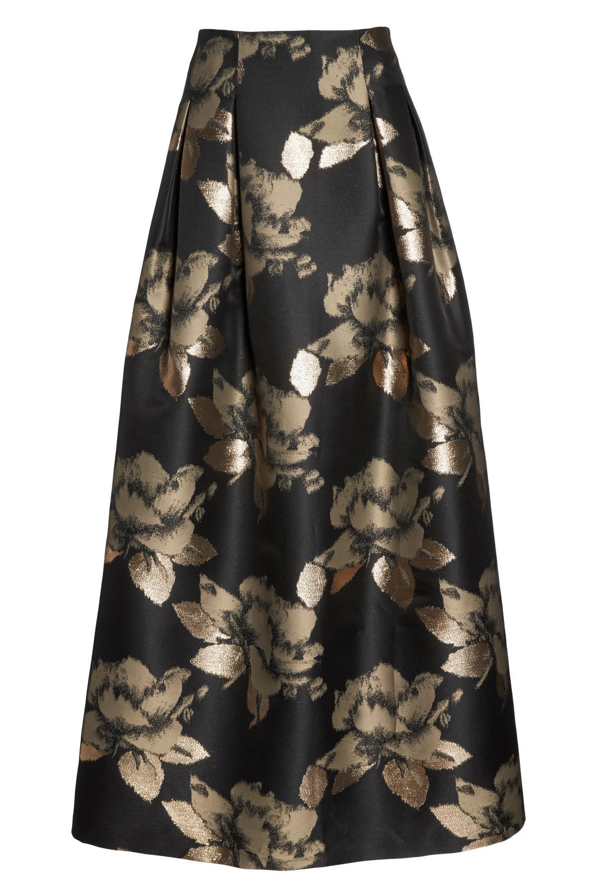 Eliza J High Waist Ball Skirt In Black Lyst
