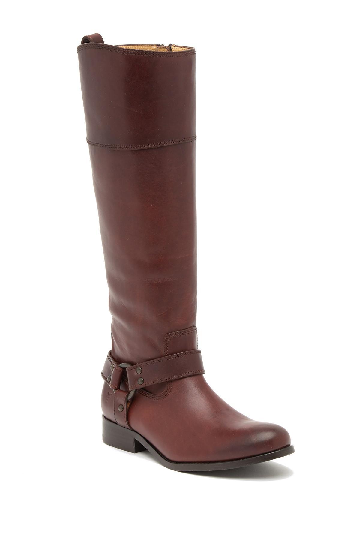 Lyst Frye Melissa Knee High Boot Women In Brown