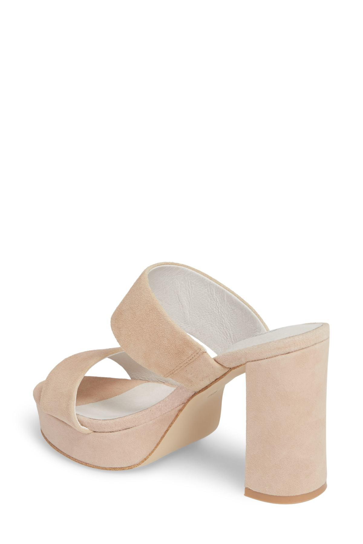 591088e9dcb0 Lyst - Jeffrey Campbell Adriana Double Band Platform Sandal