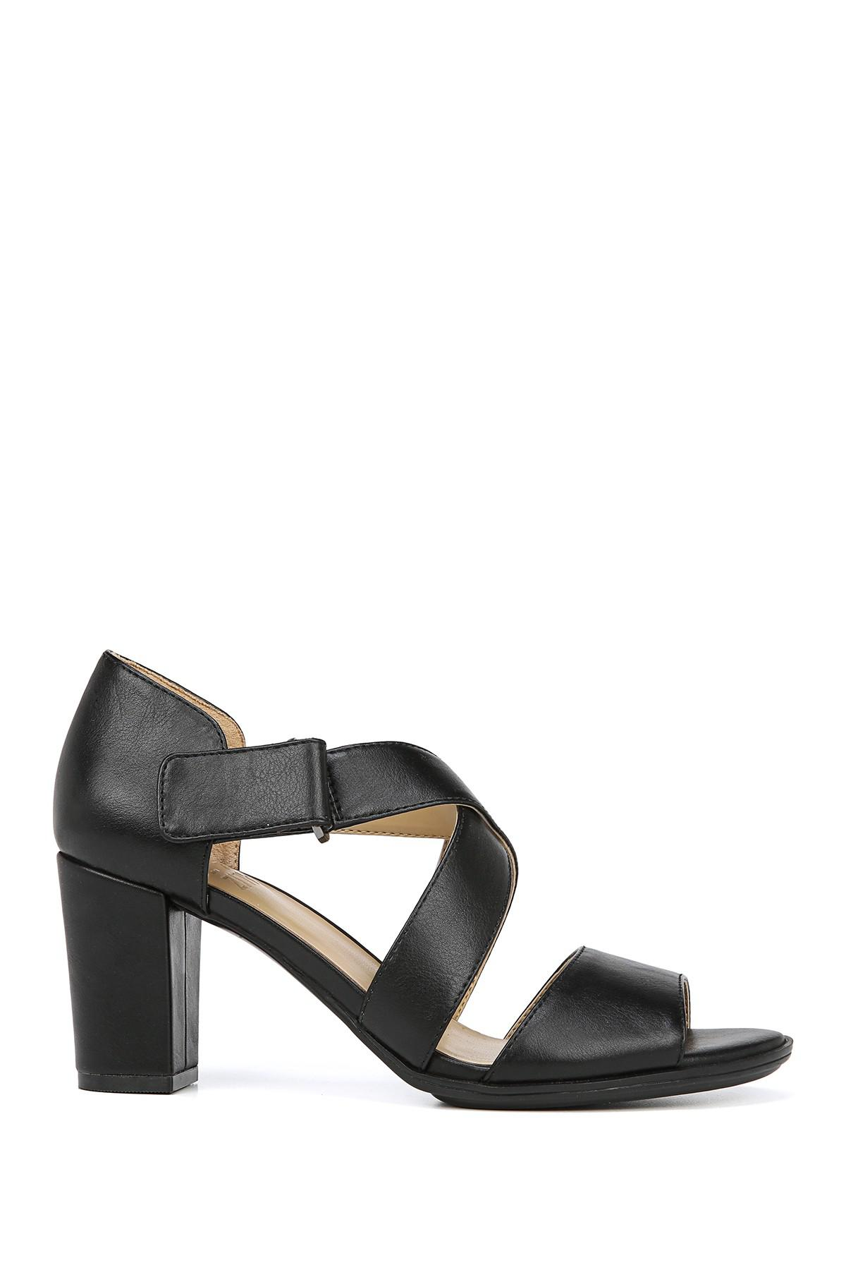 33d30a7768e9 Naturalizer - Black Lindy Sandal - Wide Width Available - Lyst. View  fullscreen