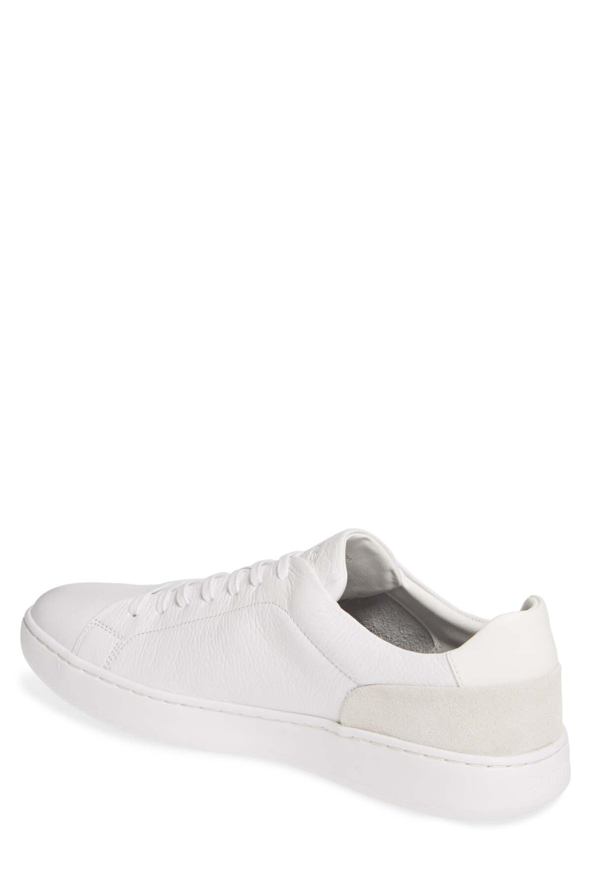 Calvin Klein Leather Fuego Sneaker in
