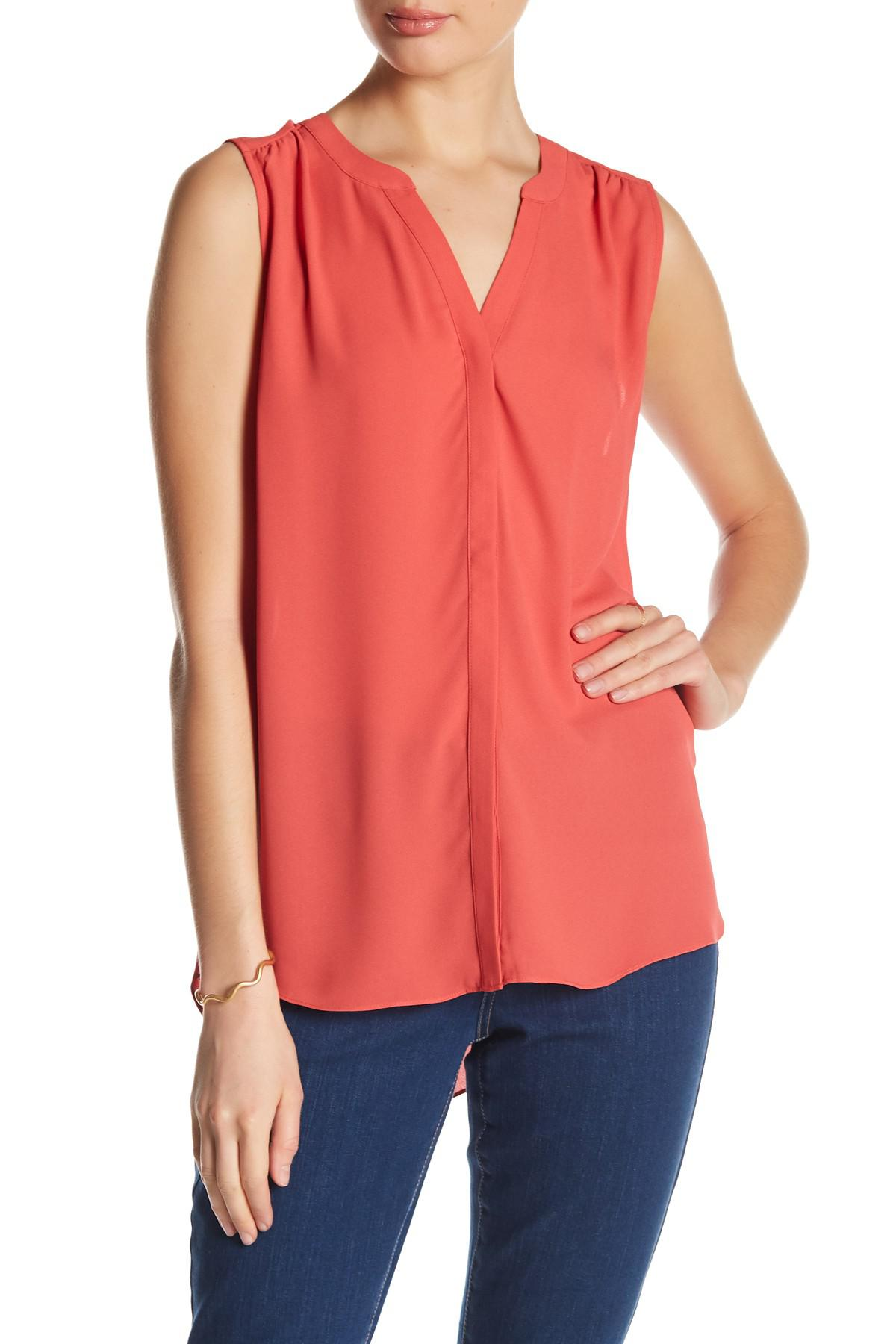 Outlet From China Buy Cheap Affordable Givenchy sleeveless split neck blouse Where To Buy Low Price Official Cheap Online PkdobNW