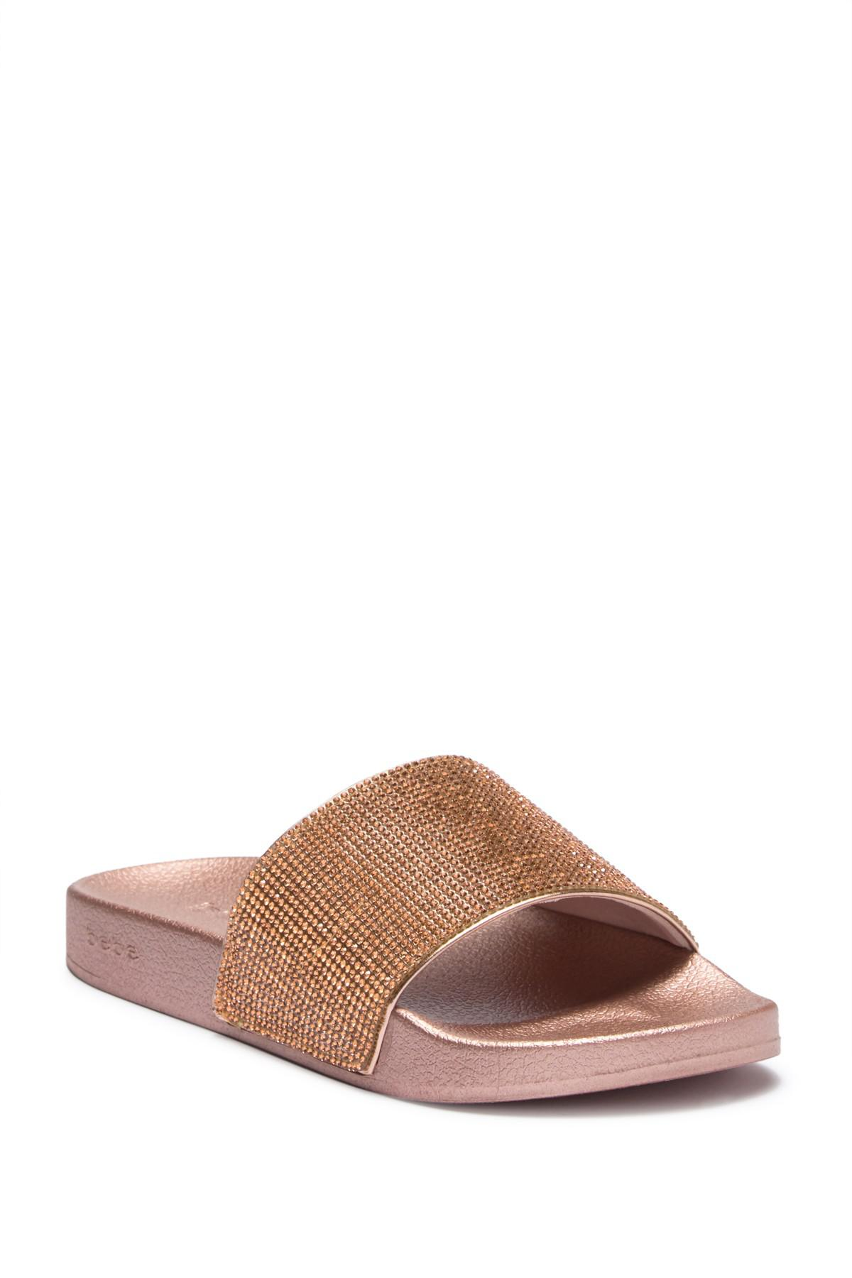 bebe Fonda Slide Sandal d8YCQ