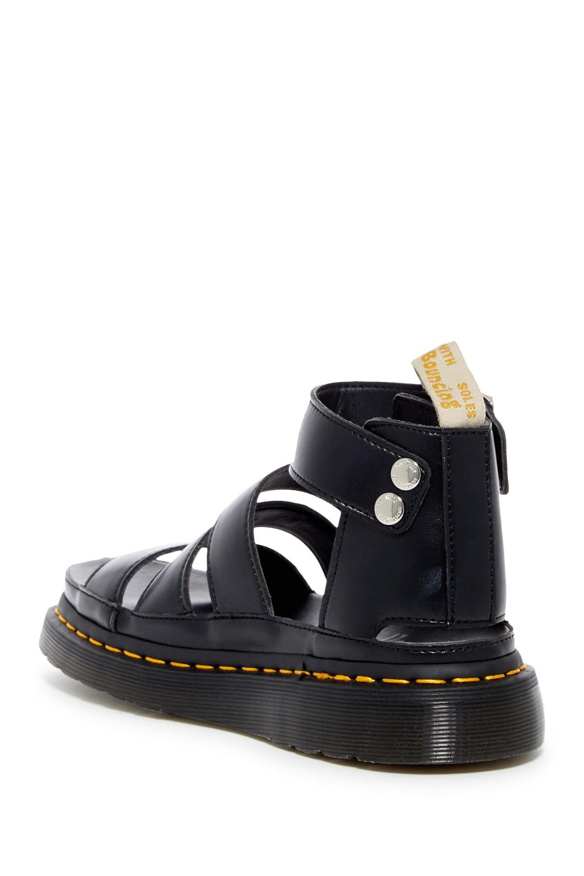 6bd19d234a Dr. Martens Clarissa Ii Black Platform Sandal in Black - Lyst