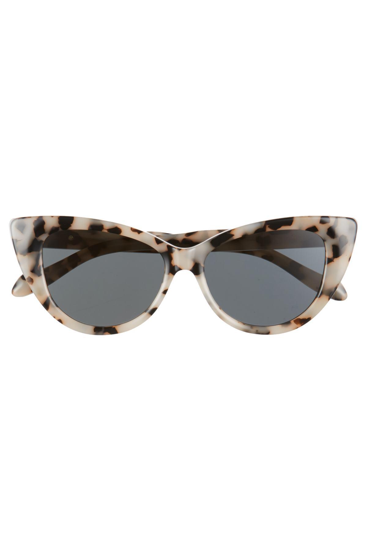 2e7f2fa2de7b Lyst - Sonix Kyoto 51mm Cat Eye Sunglasses in Black