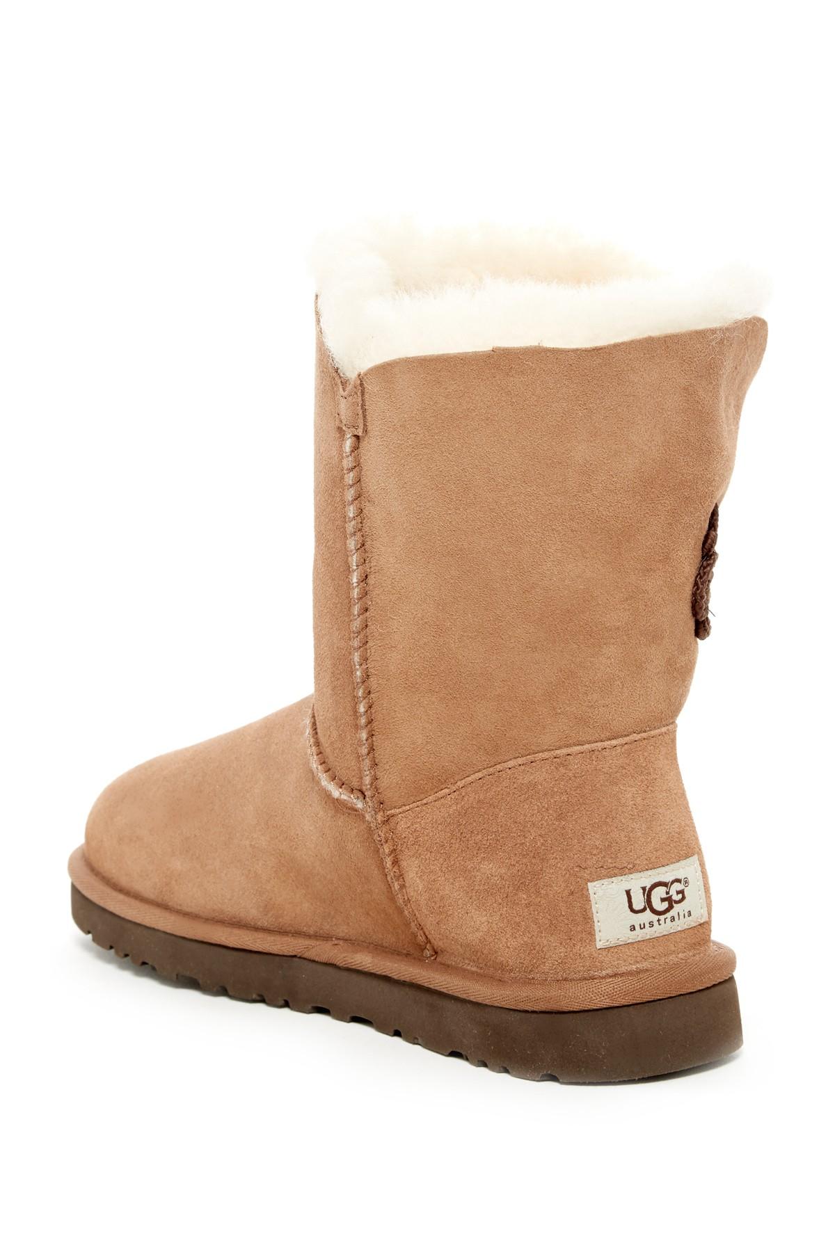 aee03c51bdd Lyst - UGG Bailey Mariko Genuine Shearling Boot in Brown