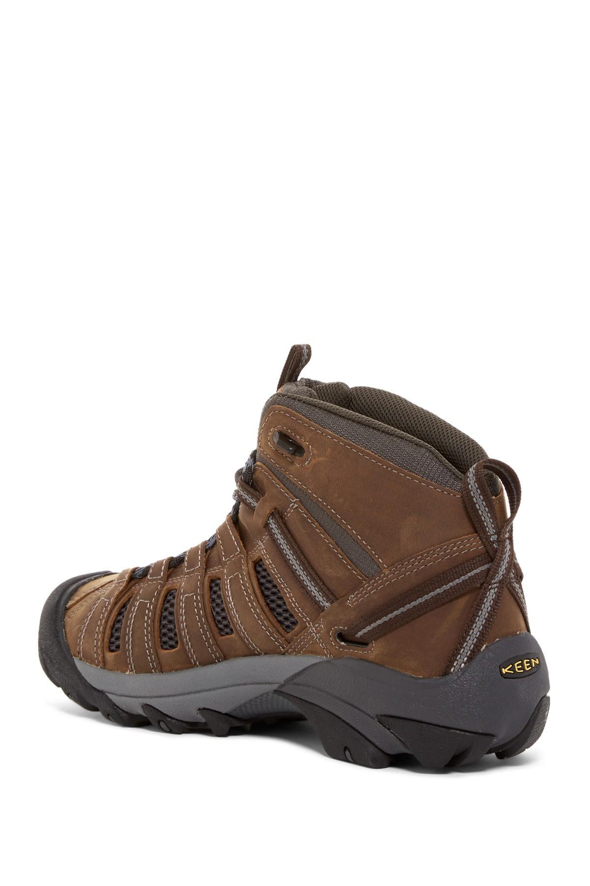Keen Brown Chukka Shoes