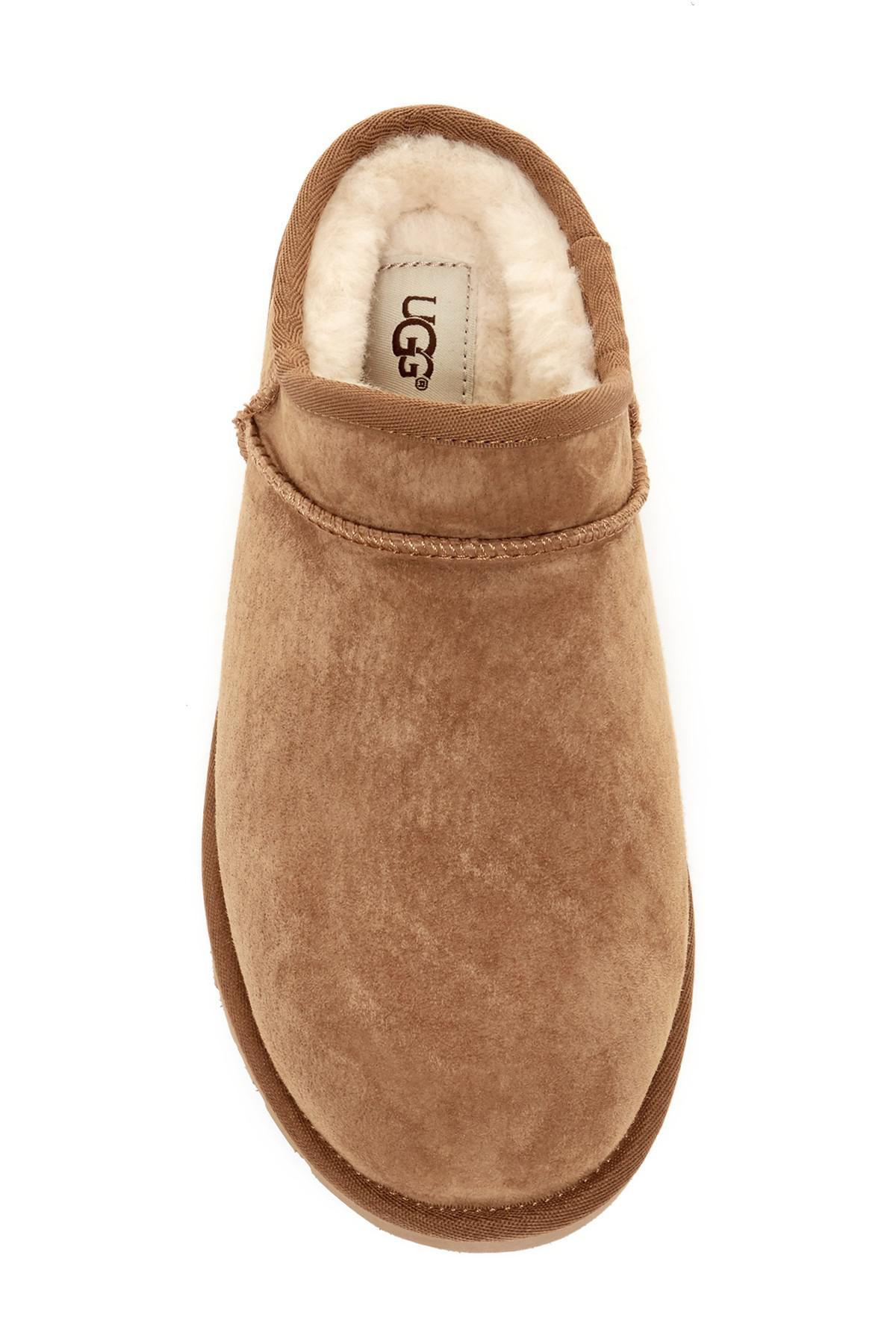 50dd017364474 Ugg - Brown (r) Classic Water Resistant Slipper (women) - Lyst. View  fullscreen