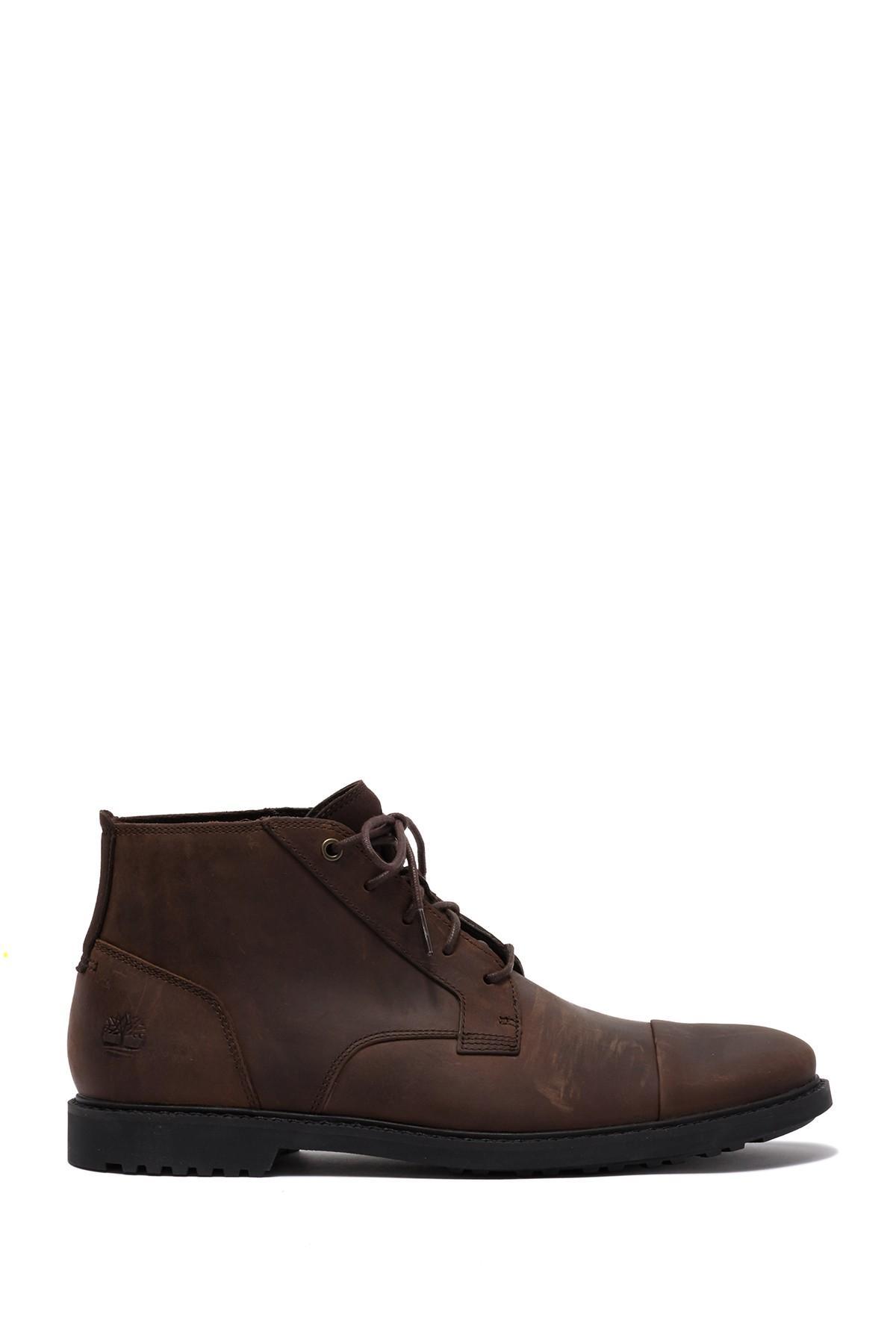 Timberland Lafayette Cap Toe Leather