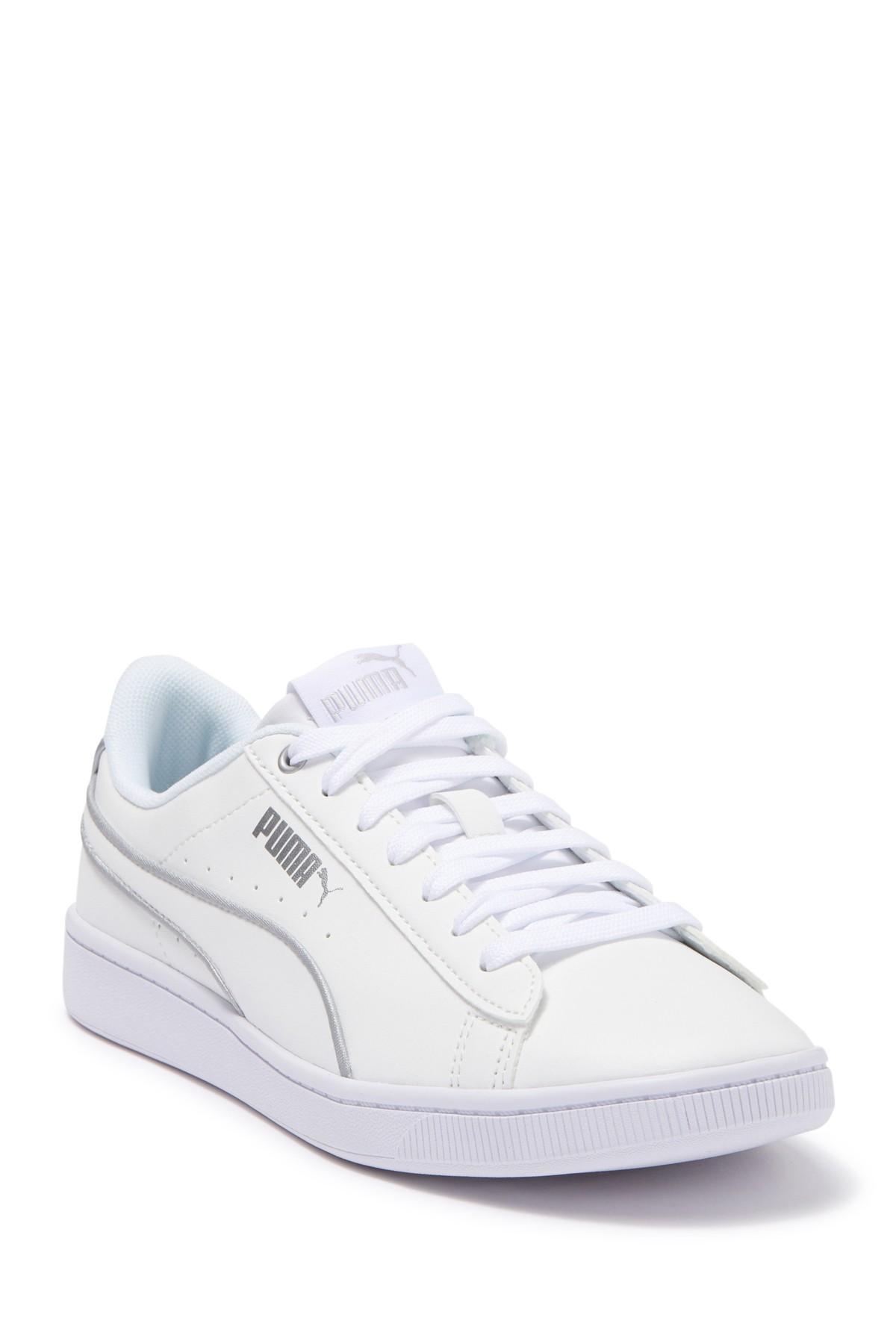 PUMA Leather Vikky V2 Hem Sneaker in
