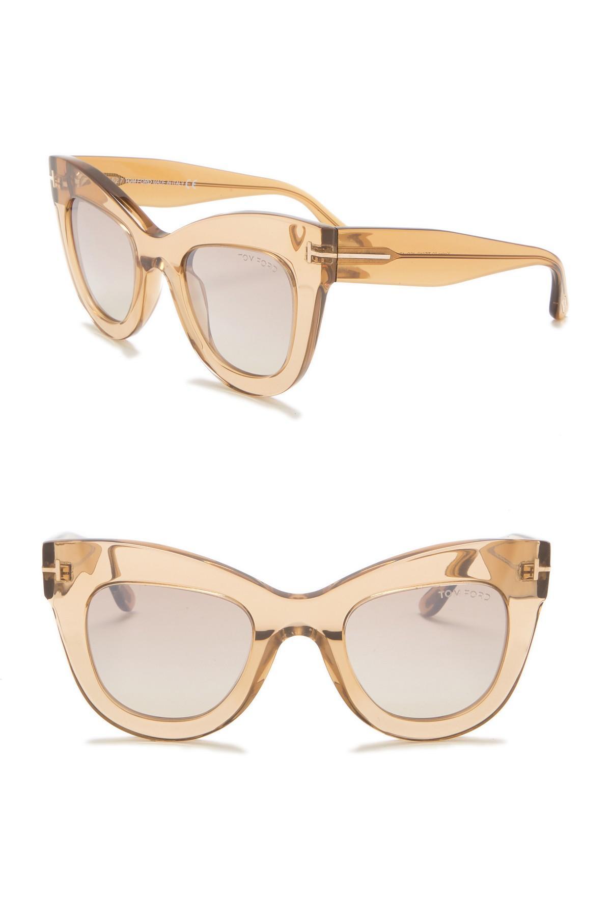20000da045f Tom Ford. Women s Karina 47mm Cat Eye Sunglasses