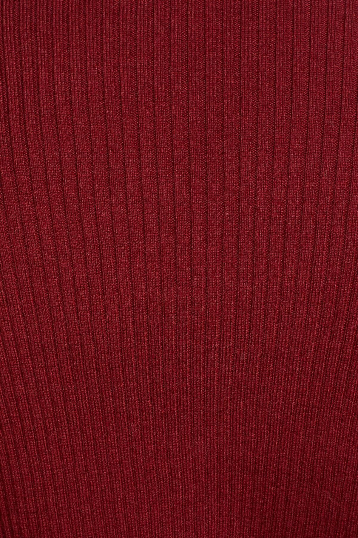 cdb0cc3dd Lyst - Leith Rib Wrap Sweater (regular   Plus Size) in Red