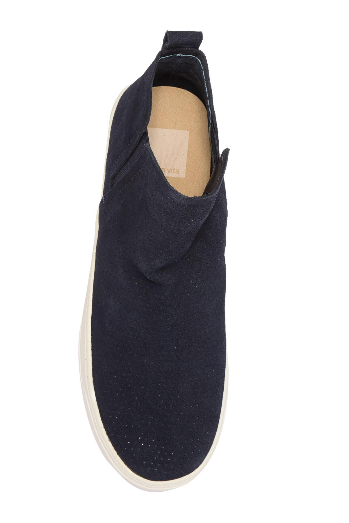 Dolce Vita Xane Perforated Suede