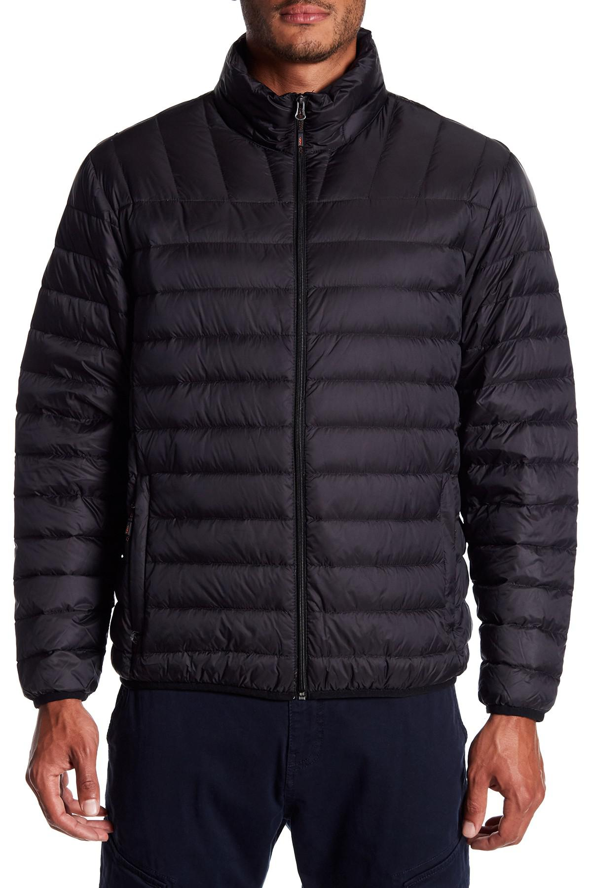 Lyst Hawke Amp Co Quilted Down Packable Jacket In Black