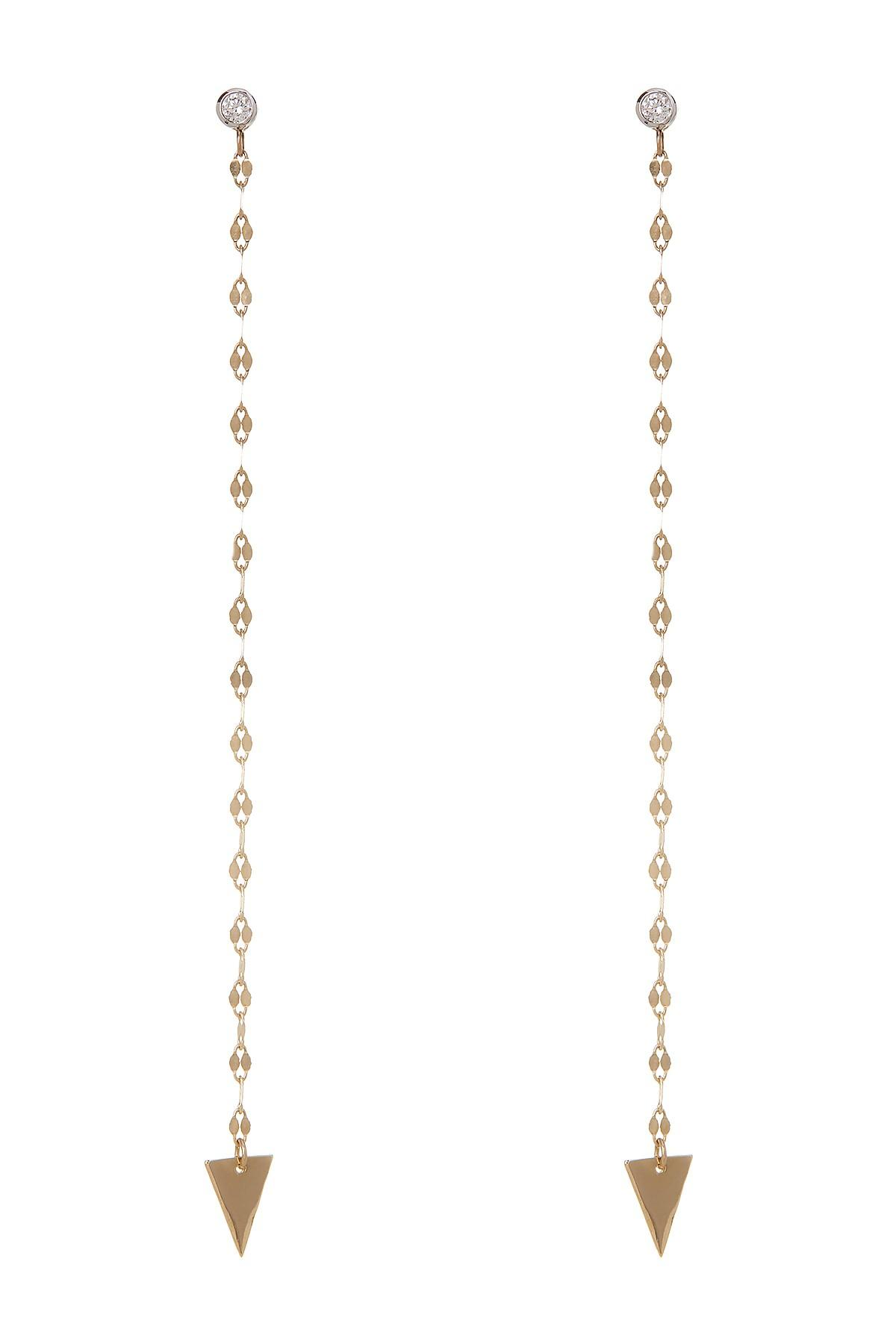 Lyst - Lana Jewelry 14k Gold Vista Crystal Detail Chain ...