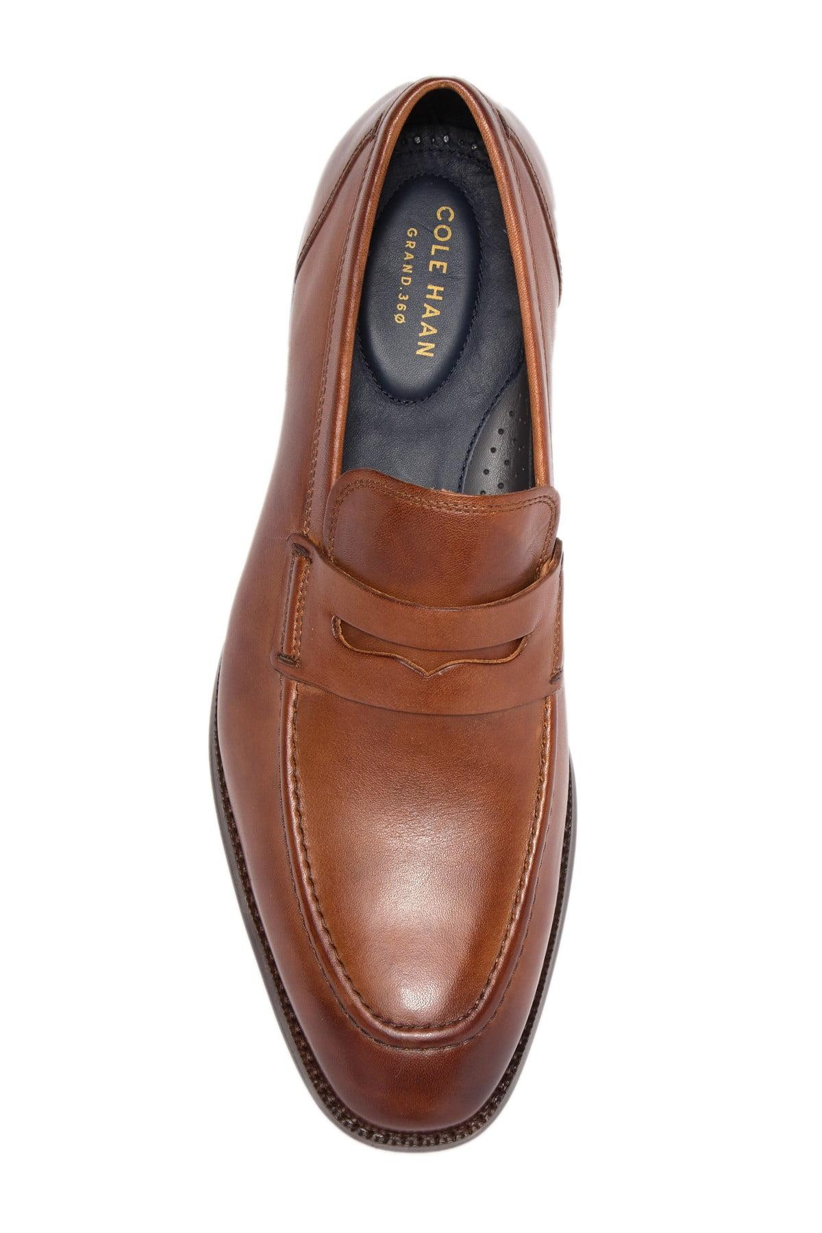 Cole Haan Leather Benton Penny Loafer