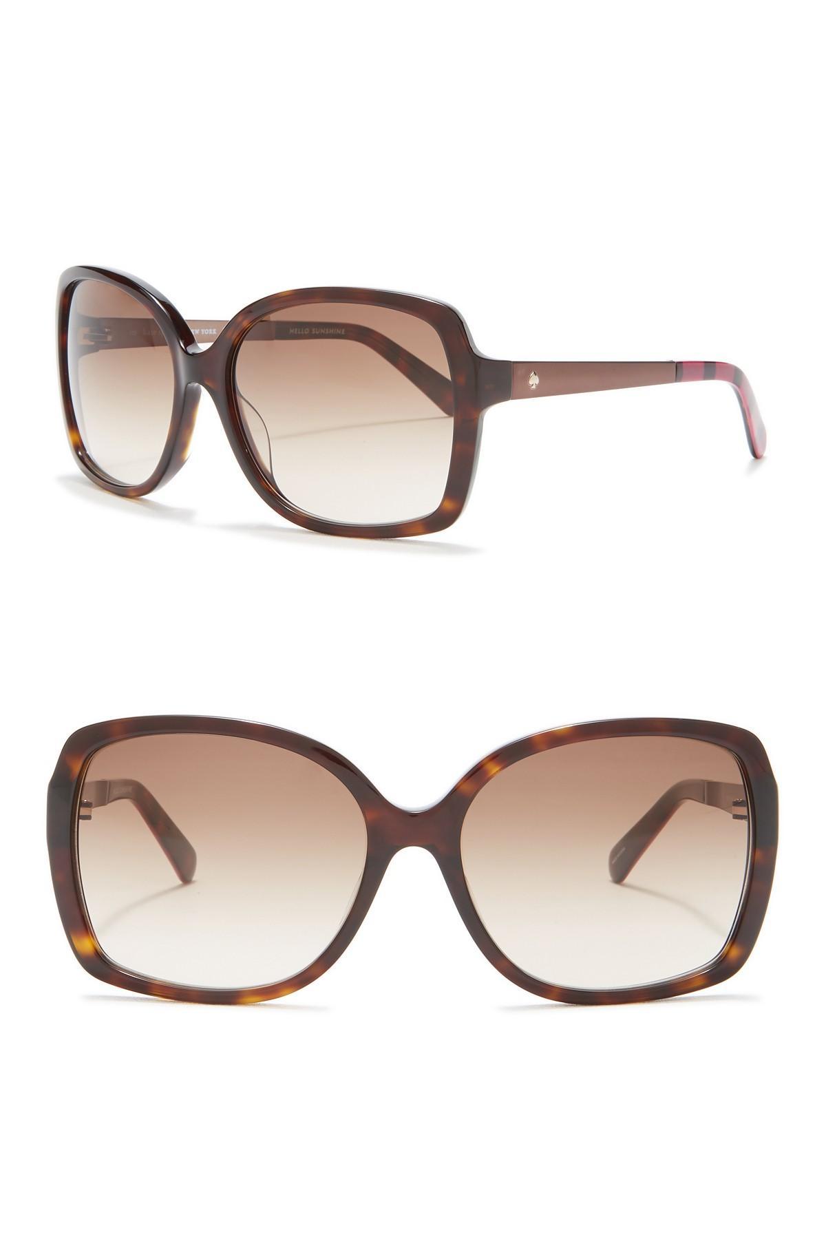 8626aee7d3459 Kate Spade. Women s Darilynn 58mm Oversized Sunglasses