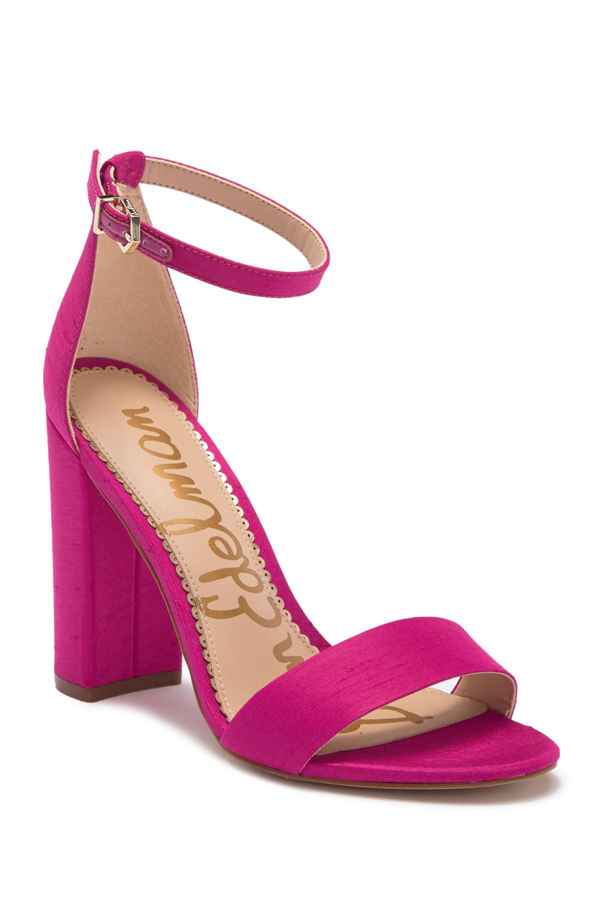 2af6b373da78 Lyst - Sam Edelman Yaro Block Heel Sandal in Pink - Save 43%
