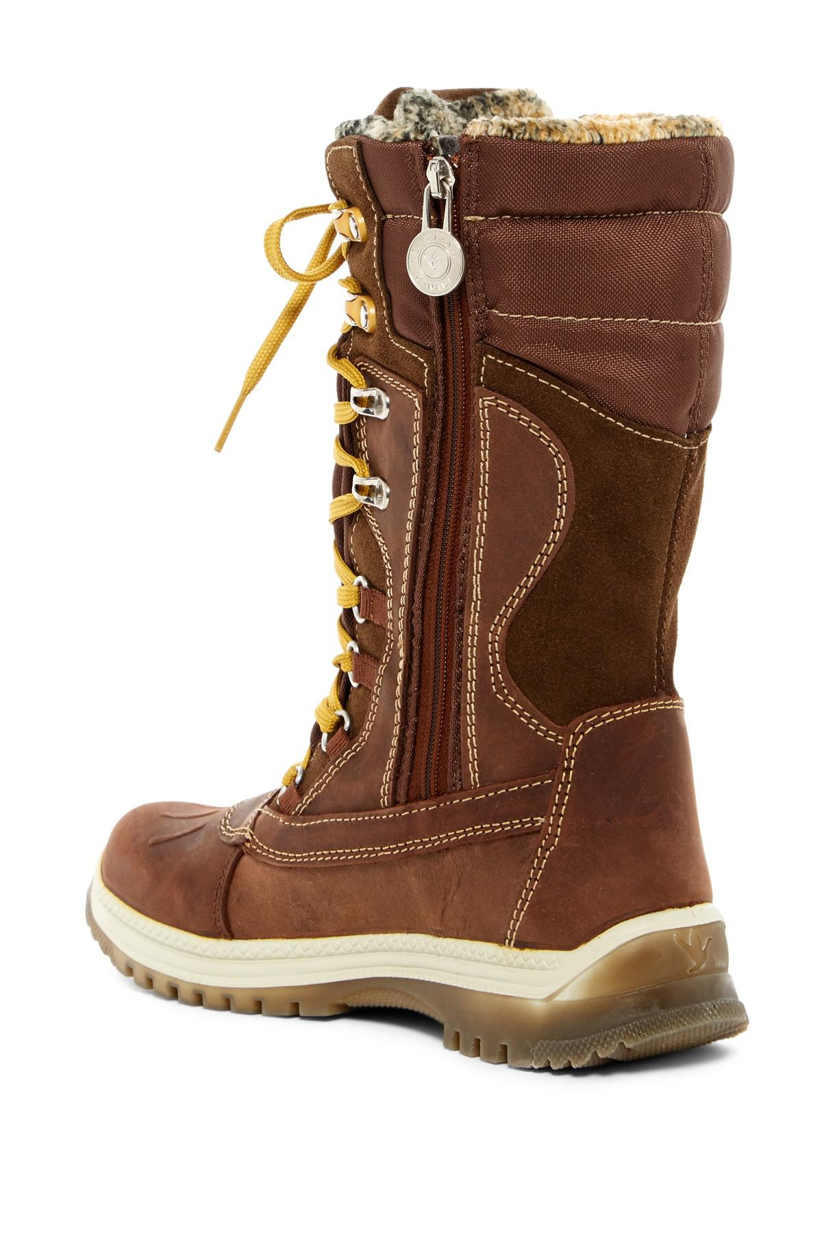 4d1de3dc11d Santana Canada - Brown Modena Wool Lined Waterproof Boot - Lyst. View  fullscreen