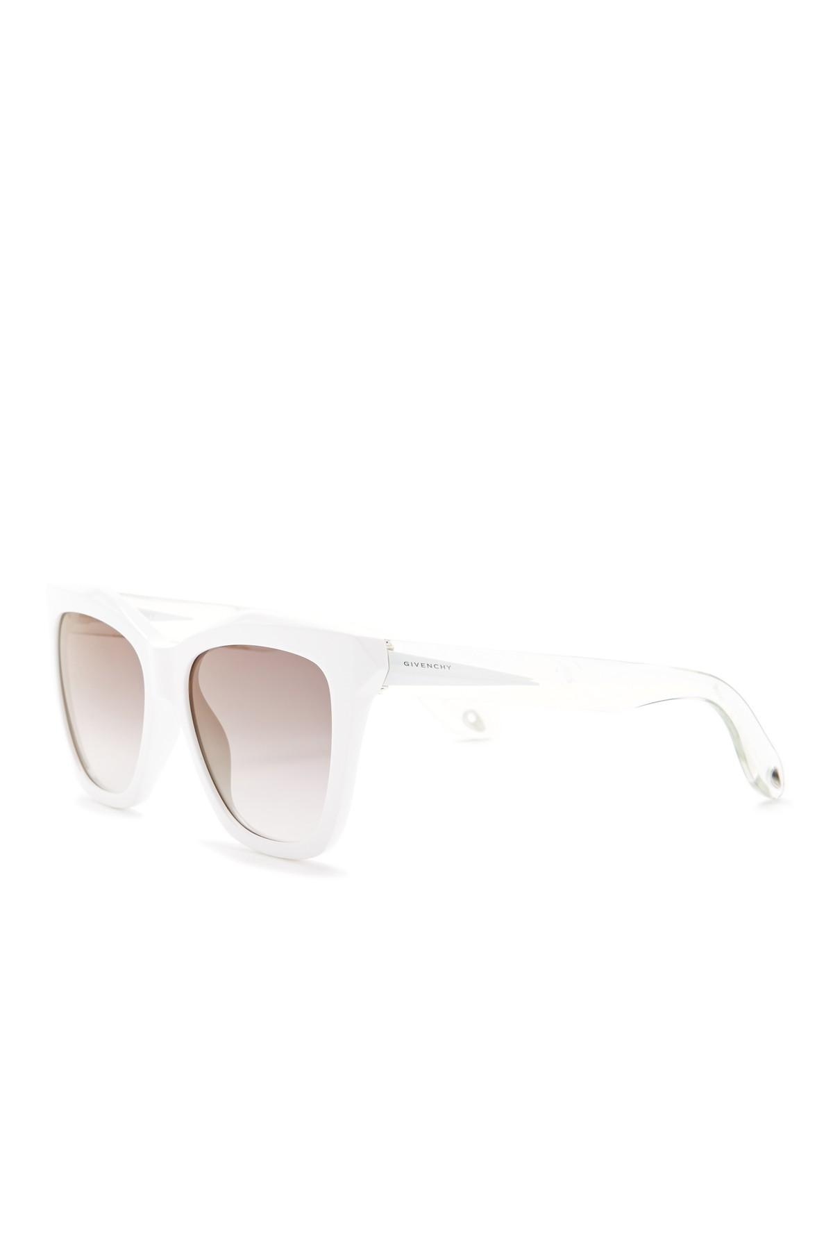 bef47f328d503 Givenchy - Multicolor 53mm Cat Eye Sunglasses - Lyst. View fullscreen
