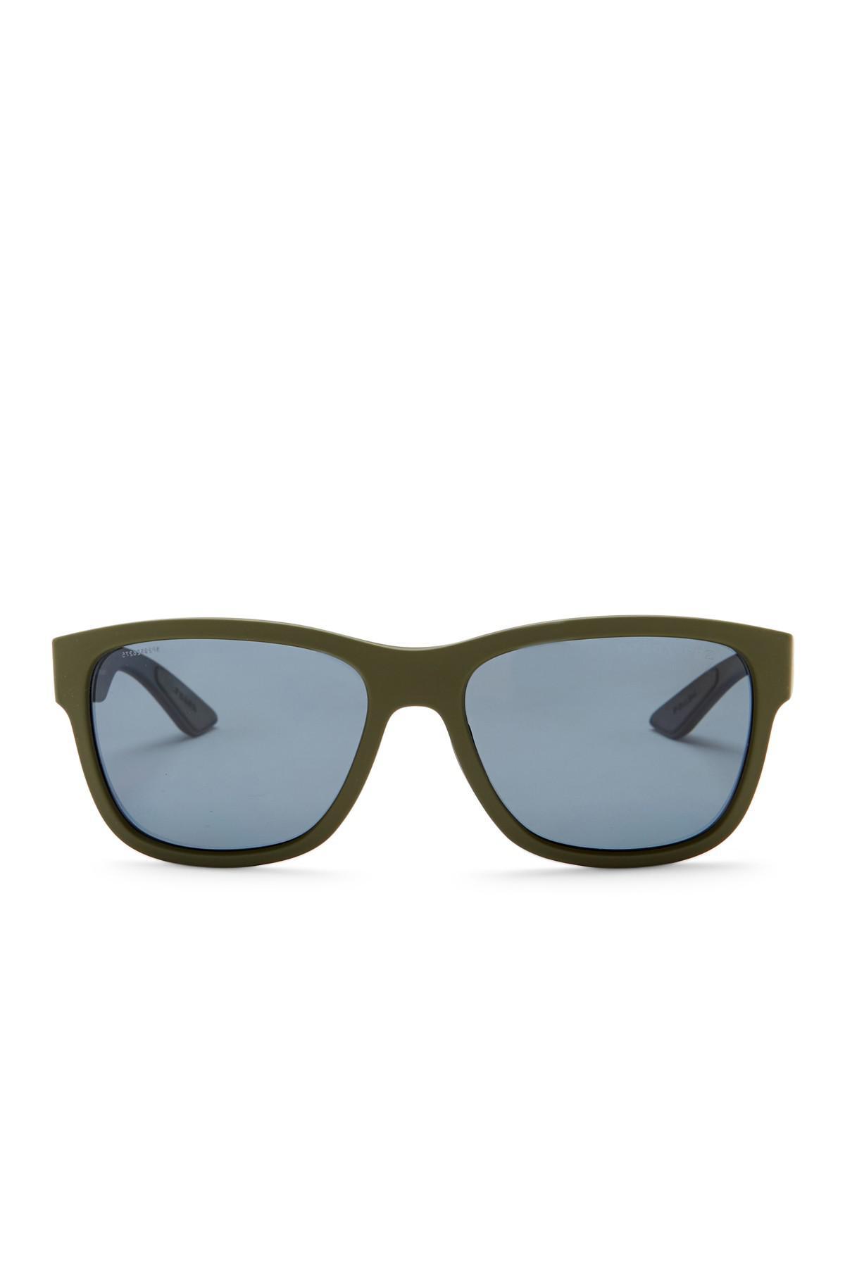 Lyst - Prada Men\'s Active Wayfarer Propionate Frame Sunglasses in ...