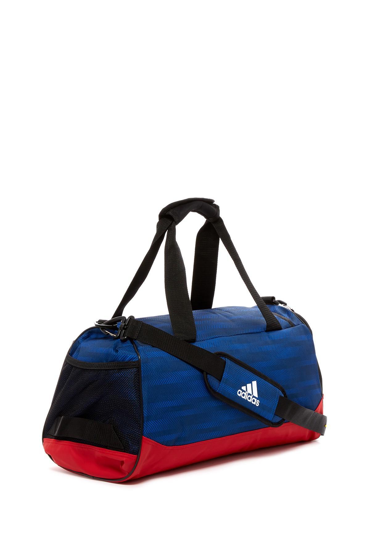 Lyst - Adidas Originals Team Issue Small Duffle Bag in Blue for Men de4825afa9970