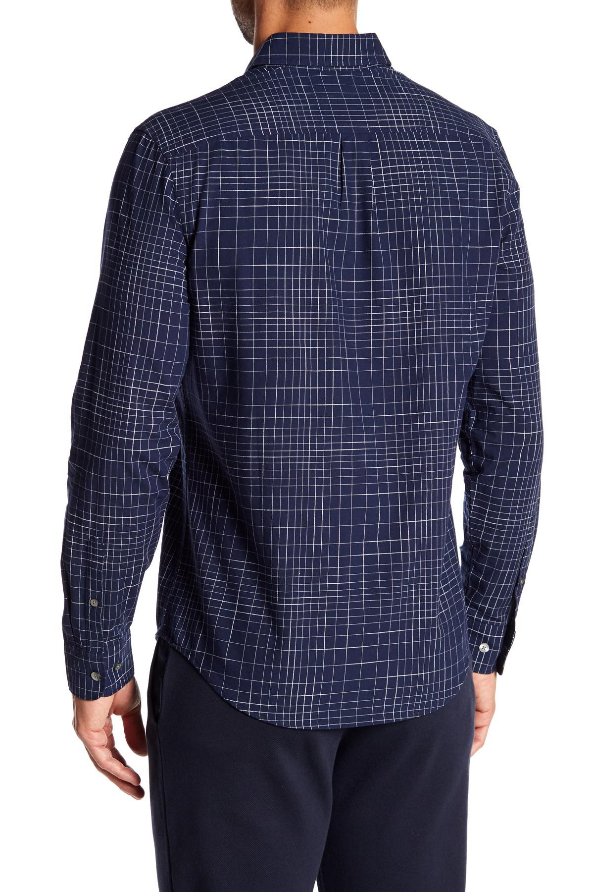 Lyst Original Penguin Long Sleeves Checker Button Down