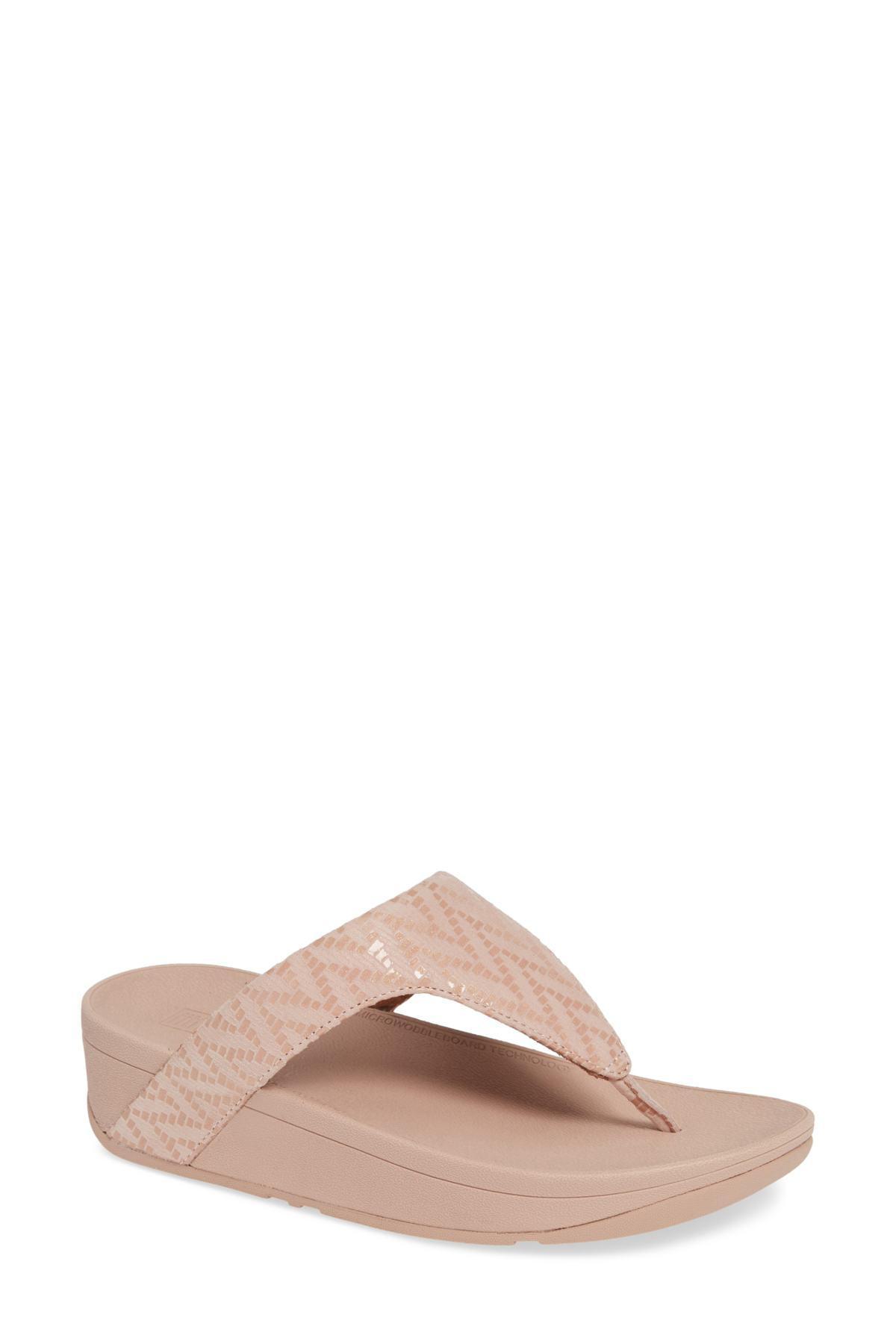 414e365e0 Fitflop. Pink Lottie Chevron Wedge Flip Flop (women).  90  50 From  Nordstrom Rack