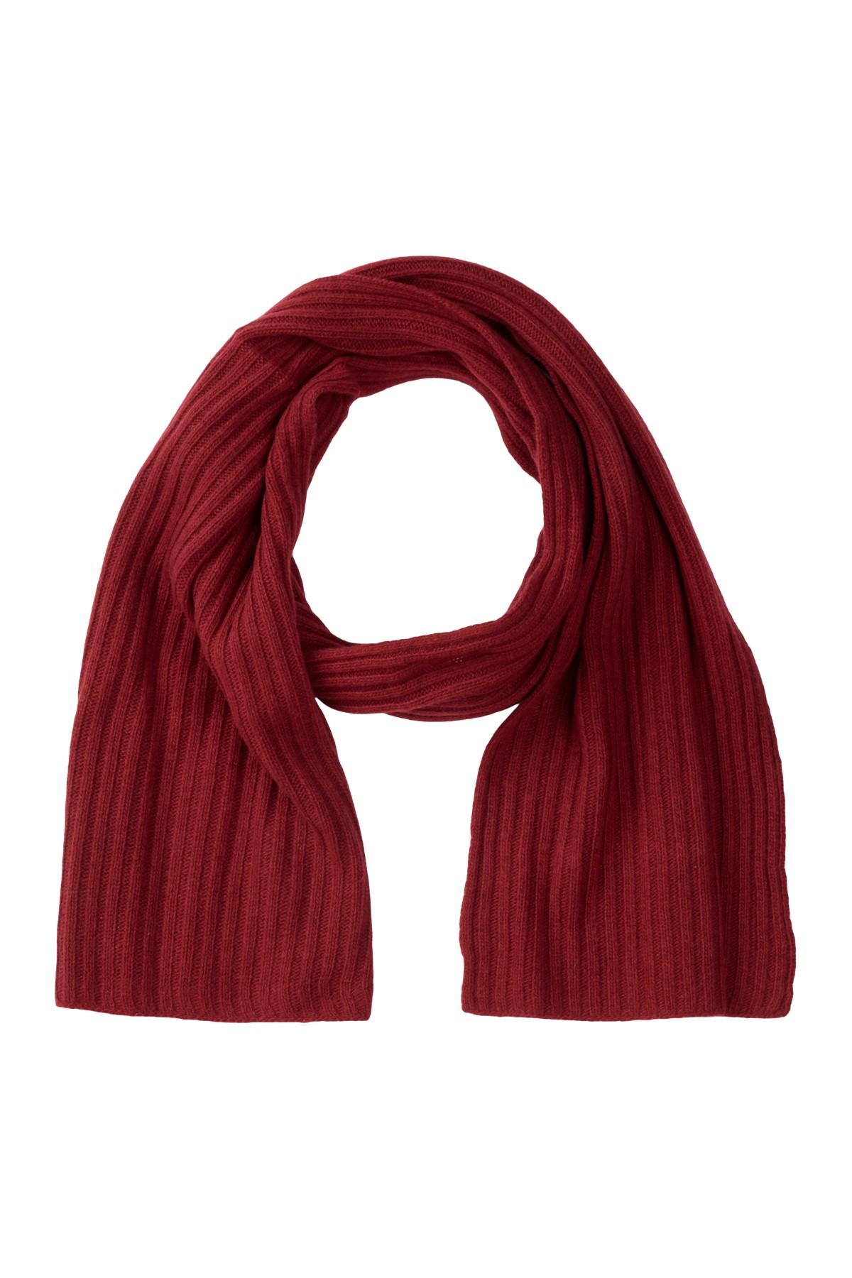 portolano ashton ribbed scarf in ashton