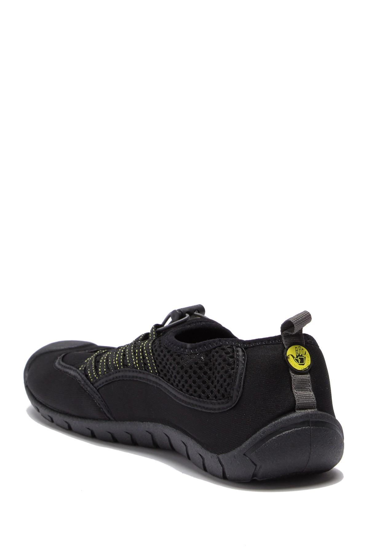 BODY GLOVE Sidewinder Water Shoes Mens Black//Yellow Lightweight Mesh Size 8 new