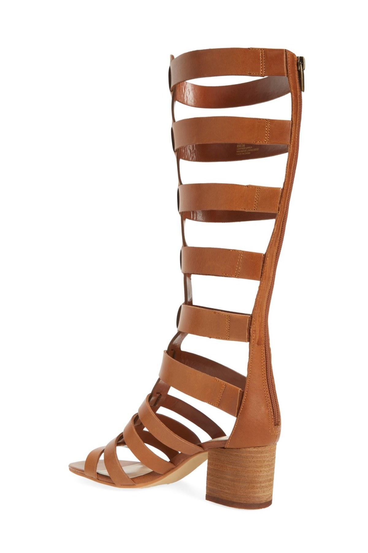 Lyst Vince Camuto Brenton Gladiator Sandal In Brown