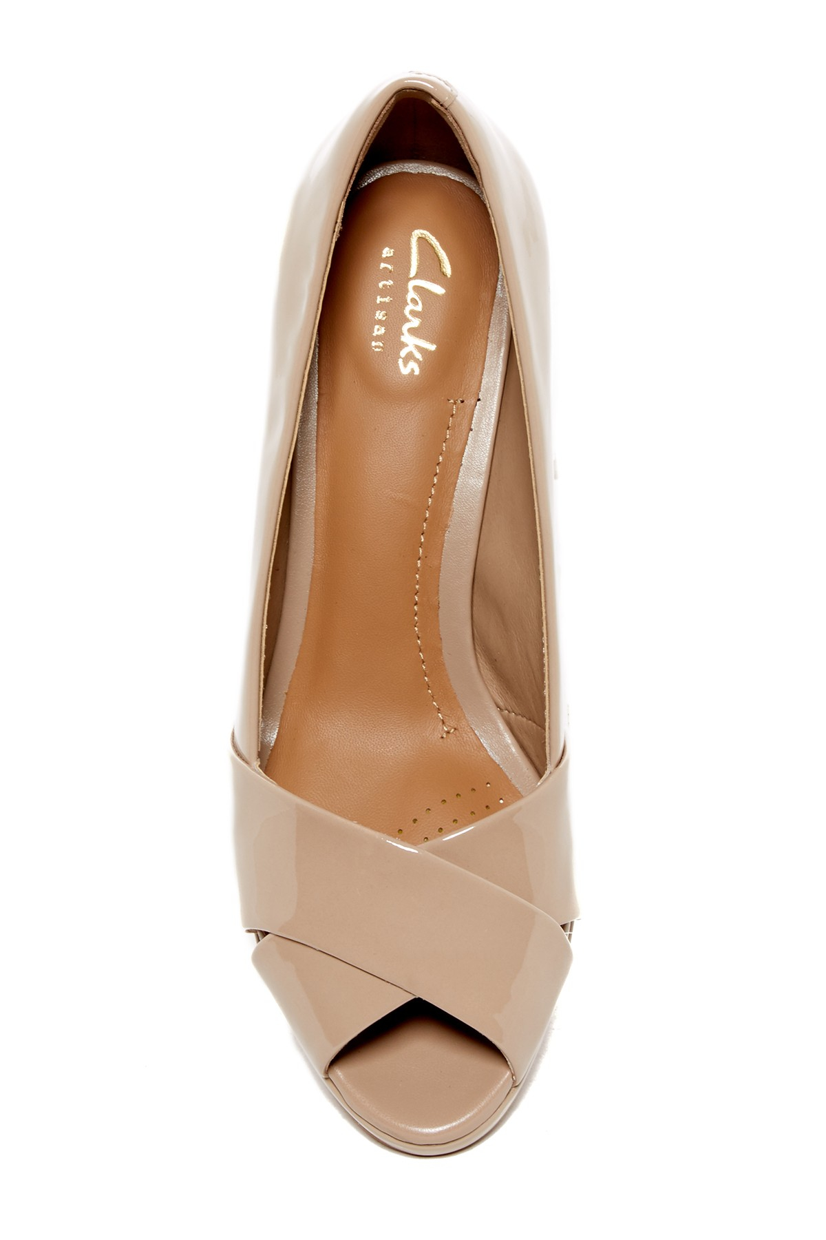 Clarks Peep Toe Shoes