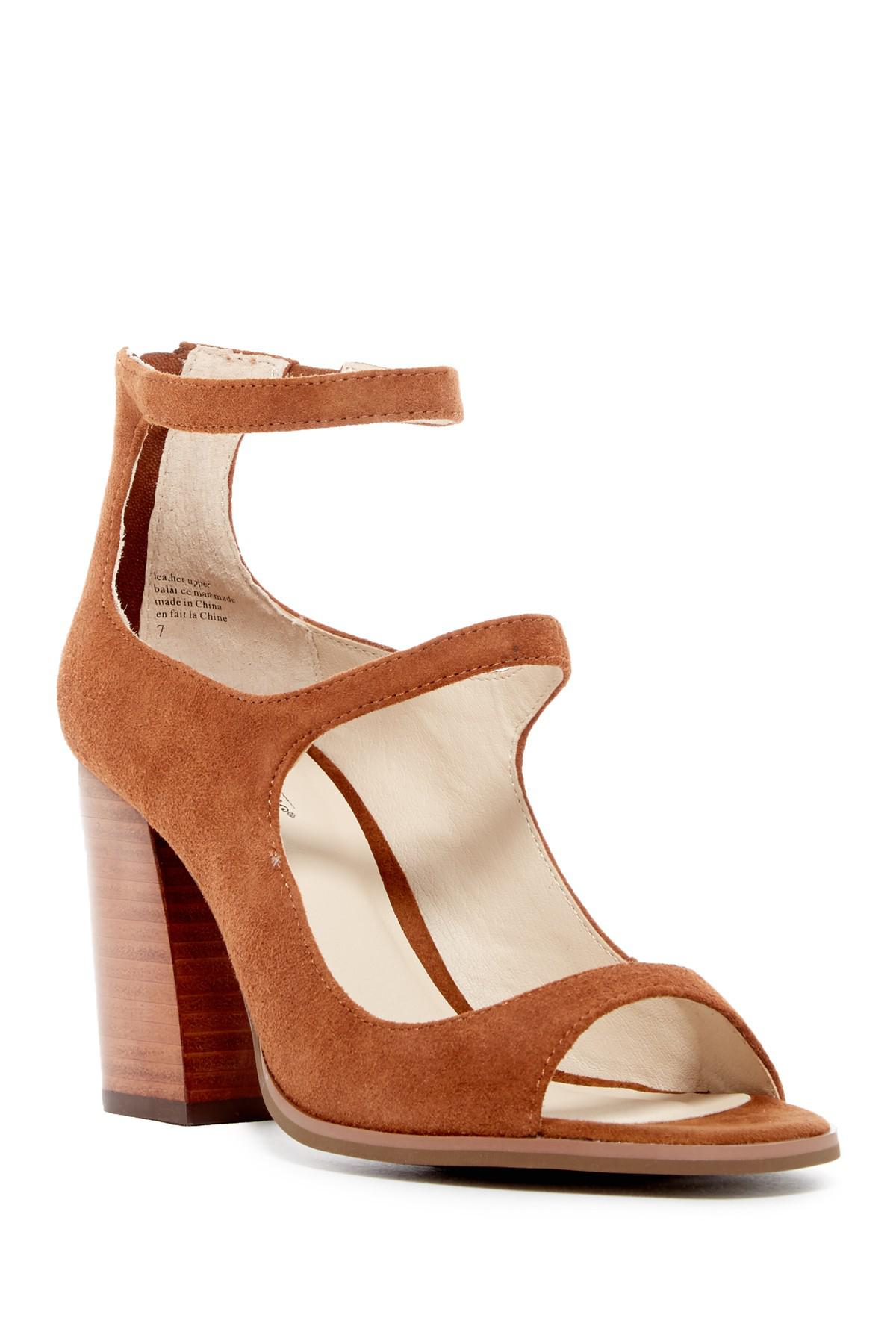 Lyst Seychelles Equal Ankle Strap Sandal In Brown