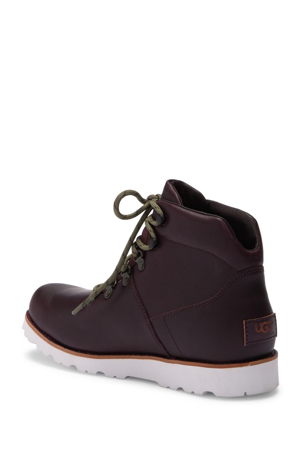Halfstein Plain Toe Waterproof Boot