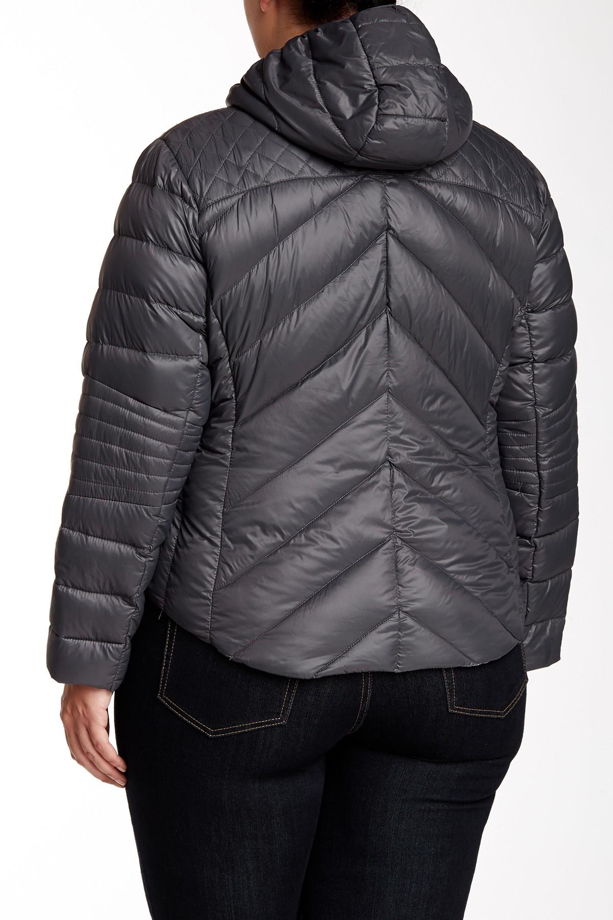 Lyst Bcbgeneration Short Packable Puffer Coat Plus Size