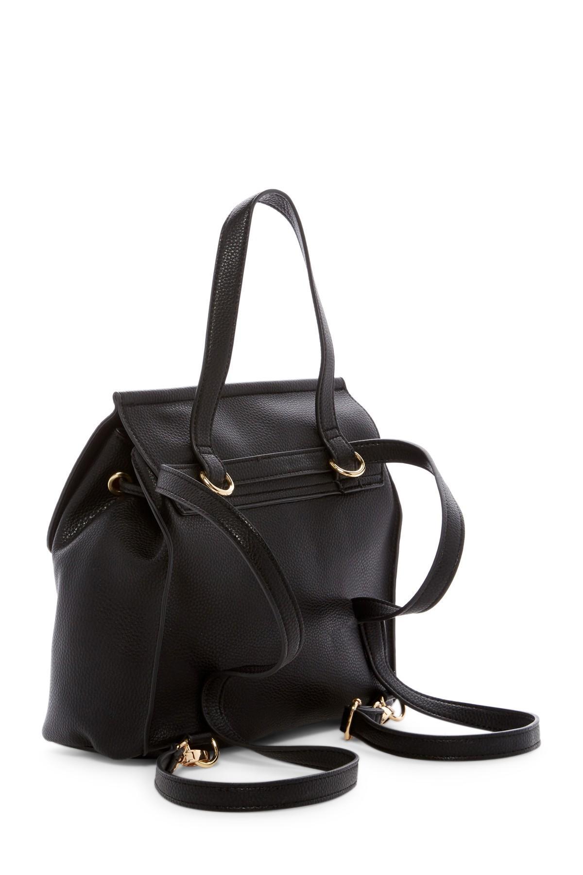 Lyst Nanette Lepore Arabelle Convertible Backpack In Black