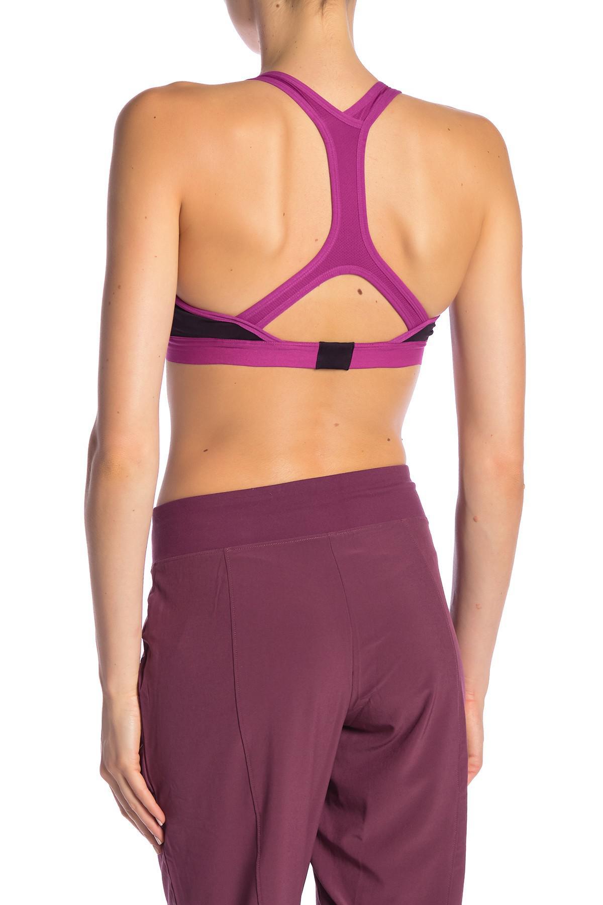 332d19bf3f0e6 The North Face - Purple Stow-n-go Sports Bra - Lyst. View fullscreen