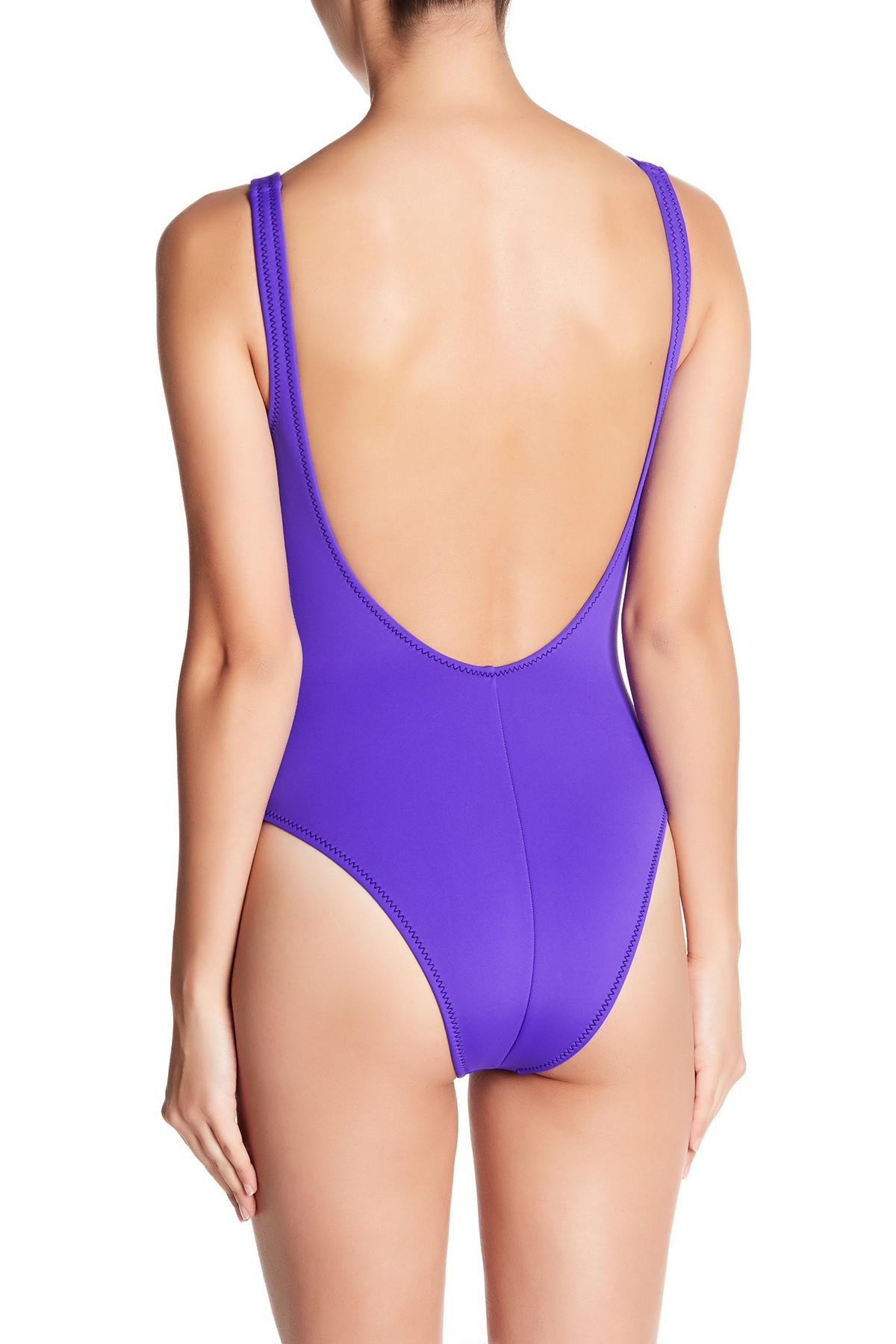 5d398e746b4 Body Glove 80s Throwback Time After Time One-piece Swimsuit in ...