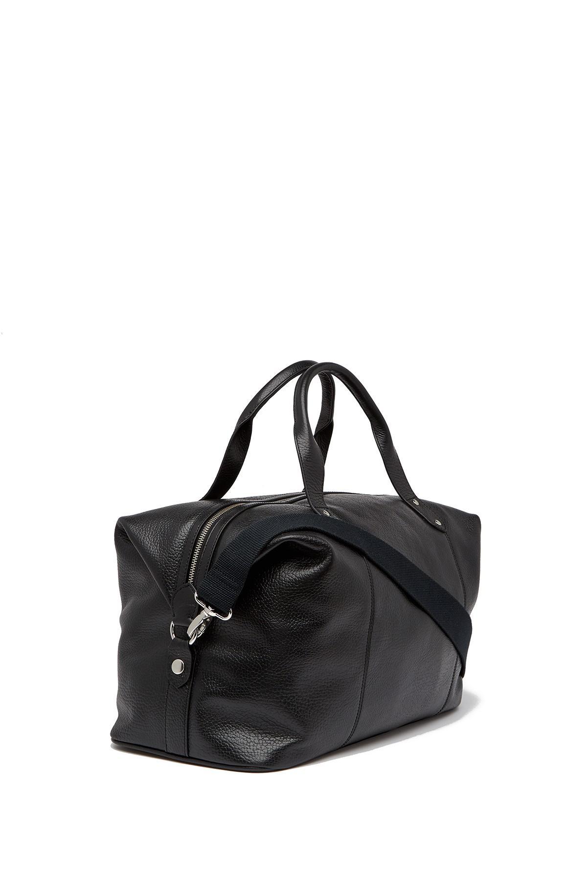 Cole Haan - Black Saunders Leather Duffel Bag for Men - Lyst. View  fullscreen 46ec99d06ed10