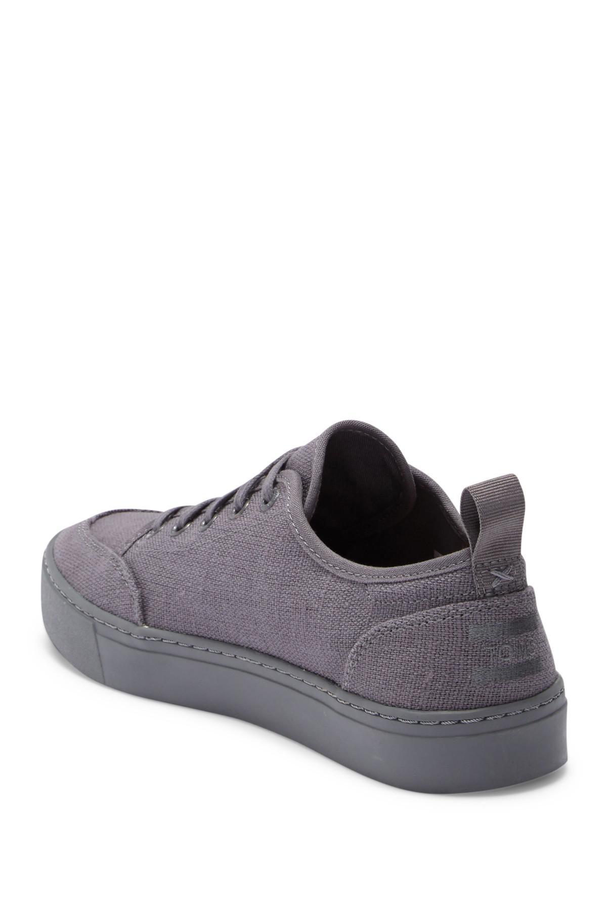 TOMS Landen Canvas Sneaker in Grey