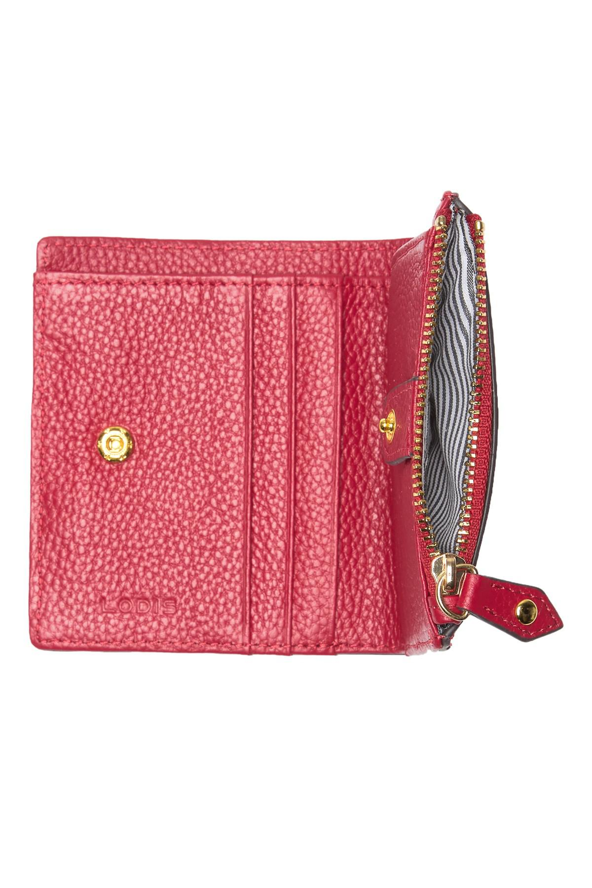 c2106d6eda Lodis Colleen French Leather Wallet in Red - Lyst