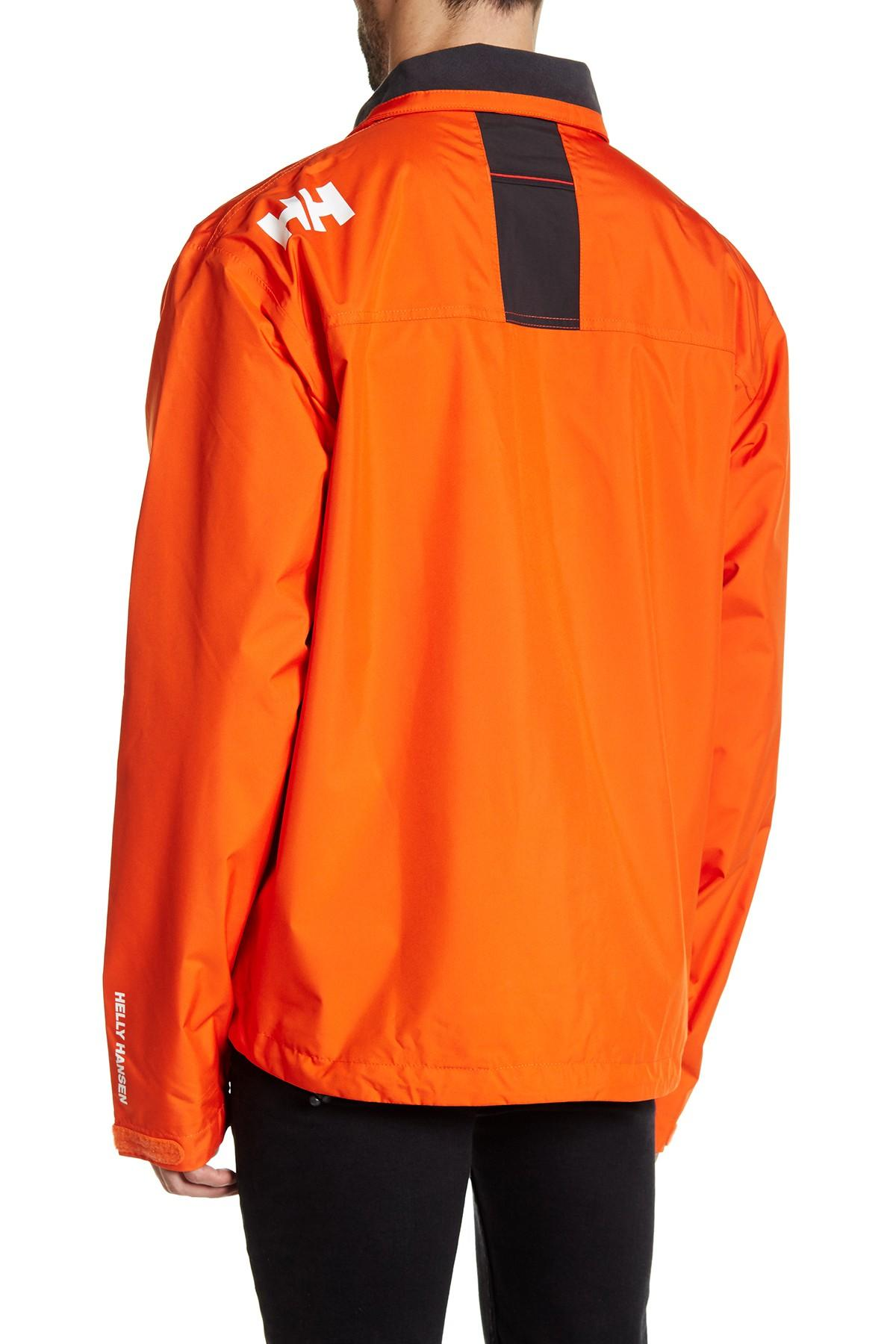 Lyst Helly Hansen Crew Fleece Lined Collar Jacket In