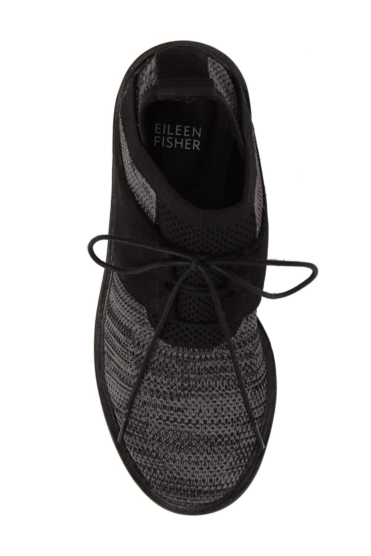 13a855c4c887 Lyst - Eileen Fisher Wilson Sneaker in Black