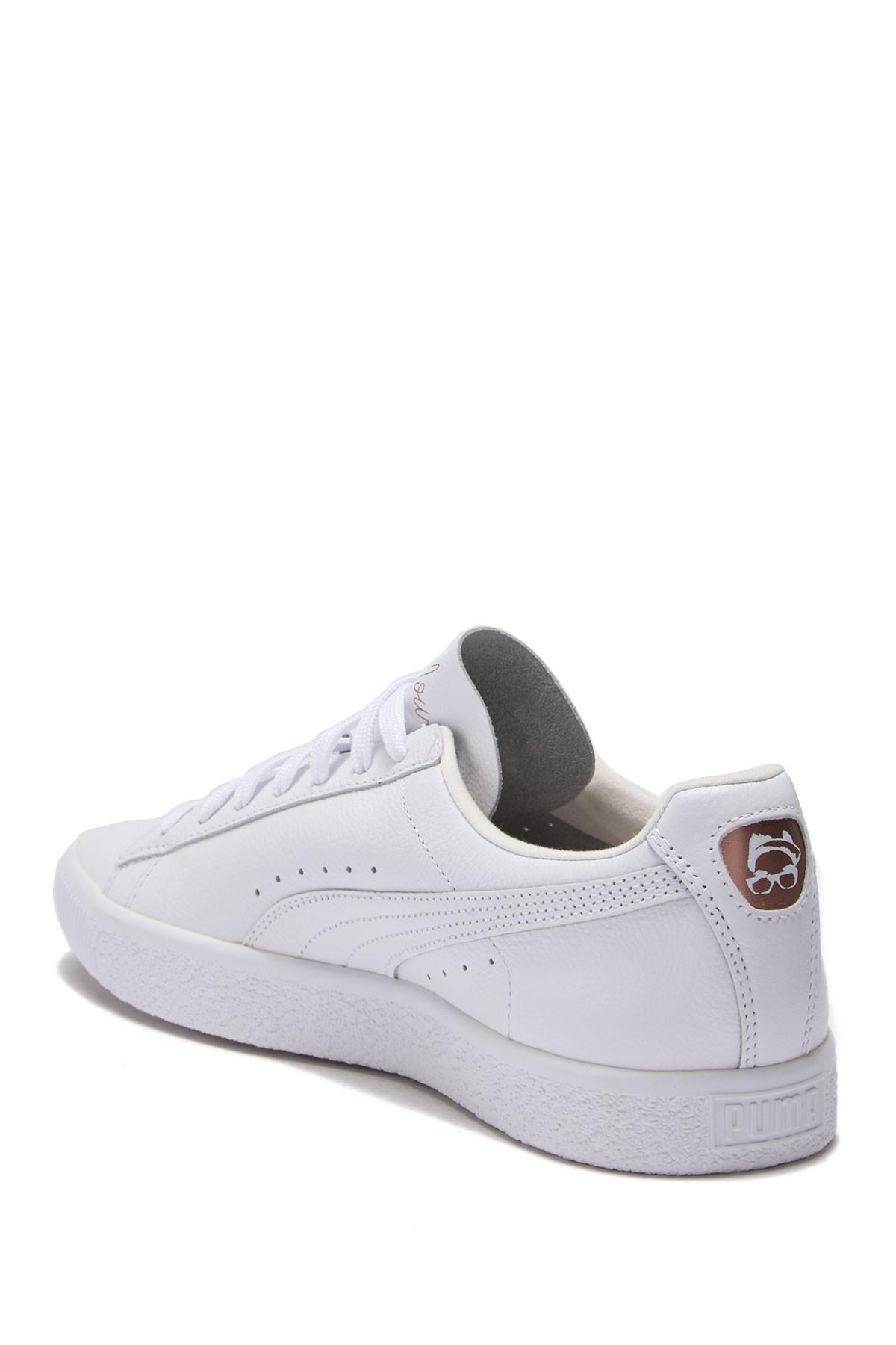 super popular 78fde 6b6c6 PUMA White Clyde X Emory Jones Sneaker for men
